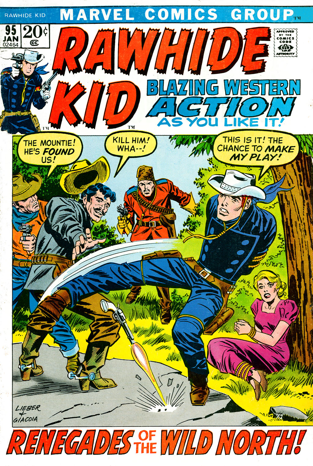The Rawhide Kid (1955) issue 95 - Page 1