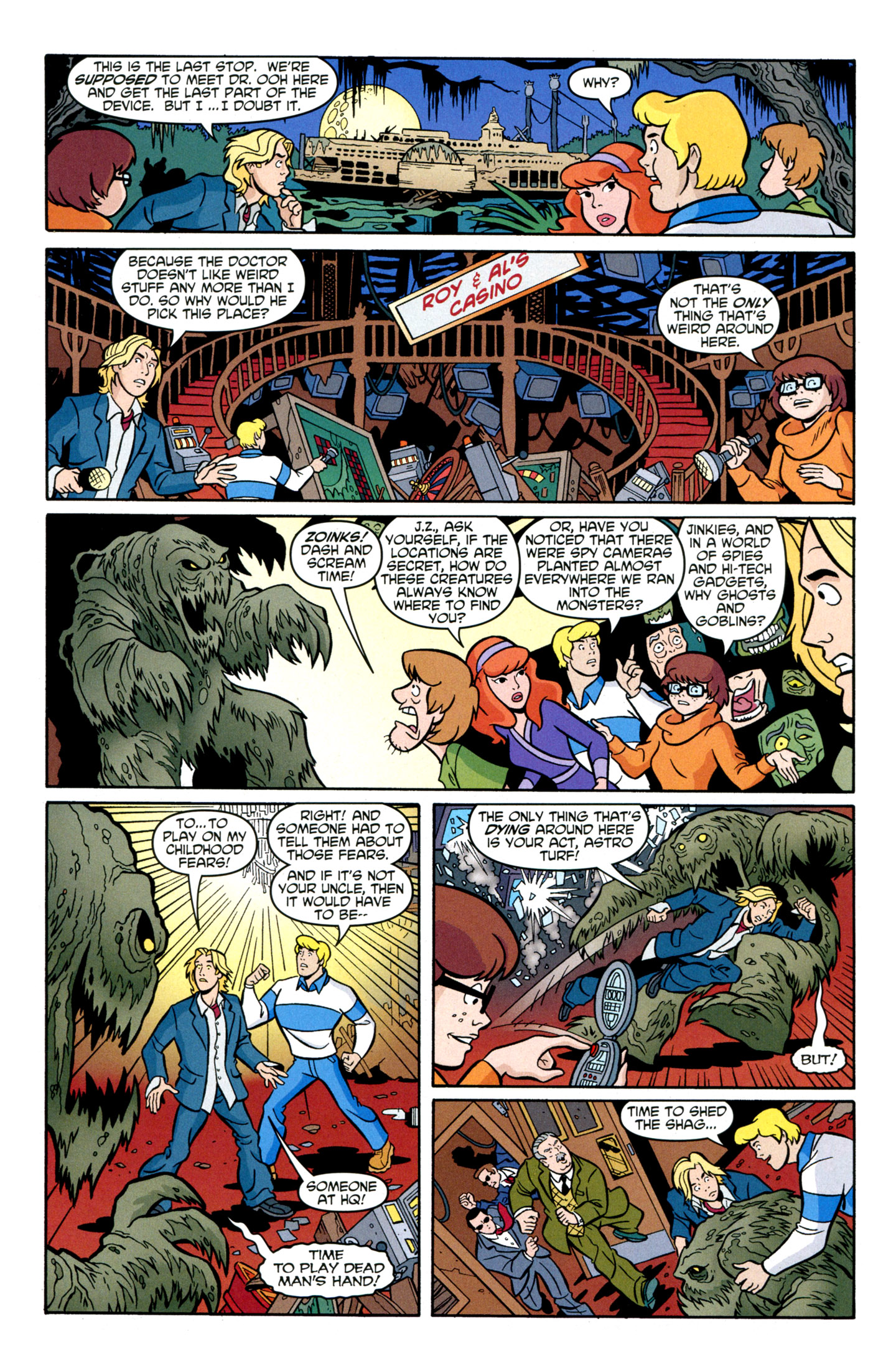 Read online Scooby-Doo: Where Are You? comic -  Issue #29 - 28