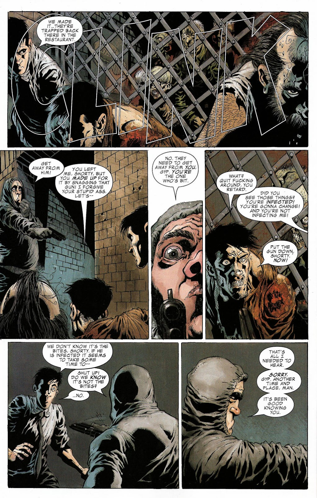 Read online Zombie (2006) comic -  Issue #2 - 21