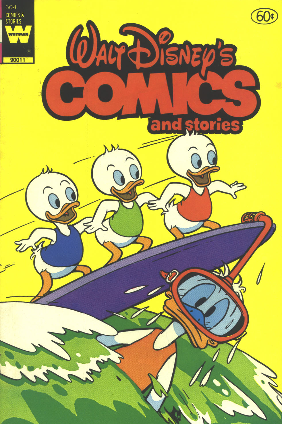 Walt Disney's Comics and Stories issue 504 - Page 1