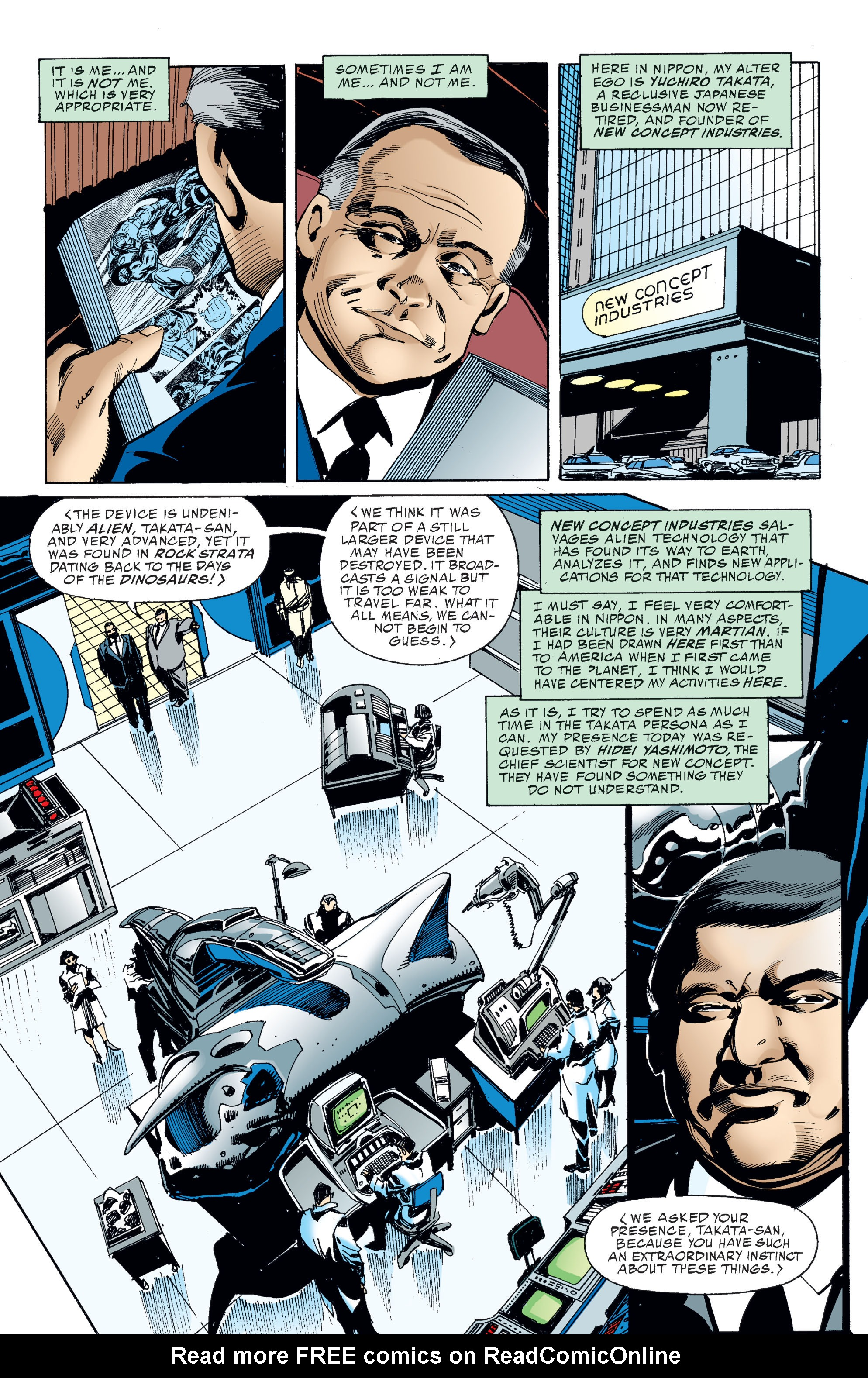 Read online Martian Manhunter: Son of Mars comic -  Issue # TPB - 61