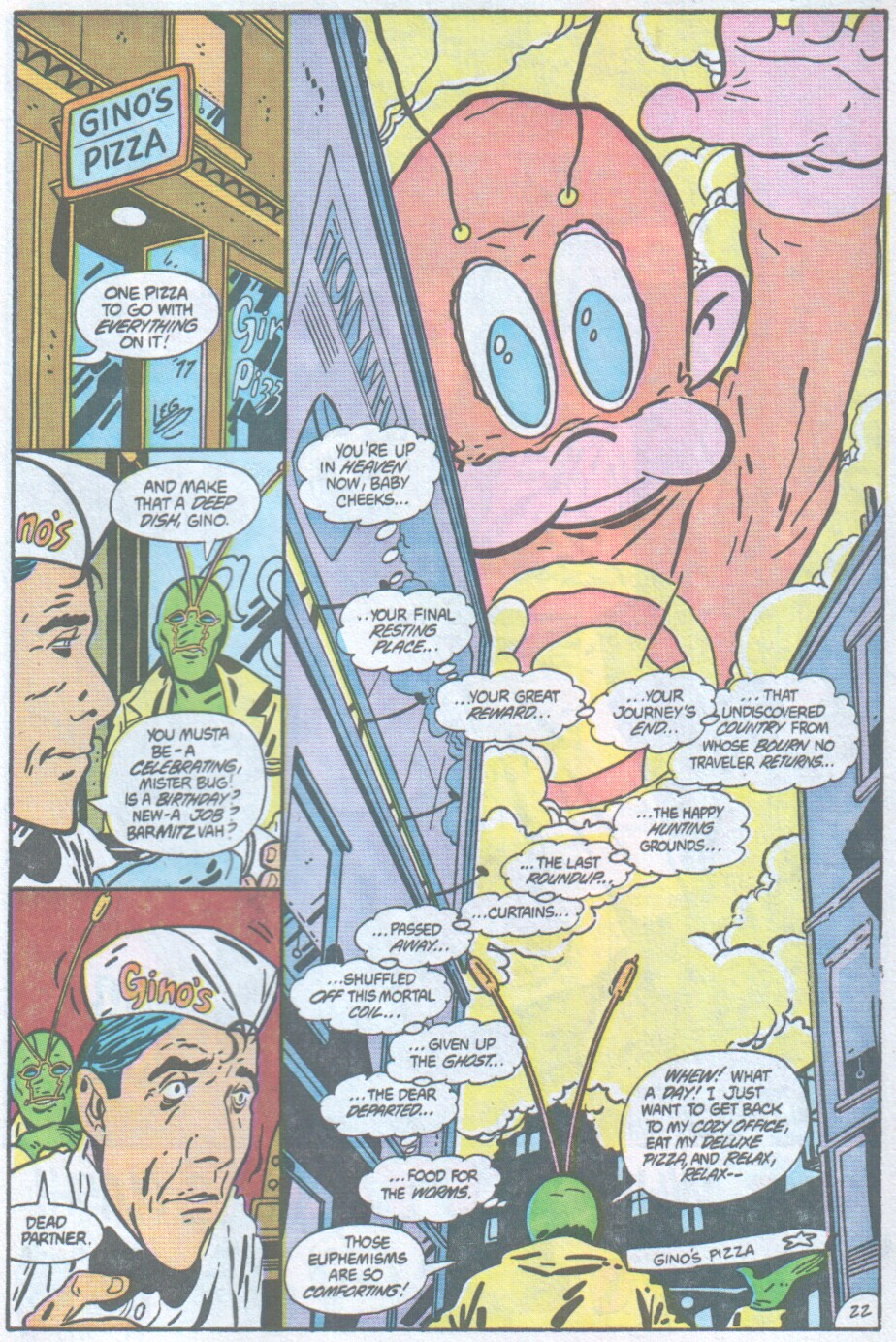 Read online Ambush Bug comic -  Issue #1 - 24