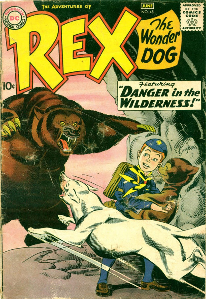 The Adventures of Rex the Wonder Dog issue 45 - Page 1