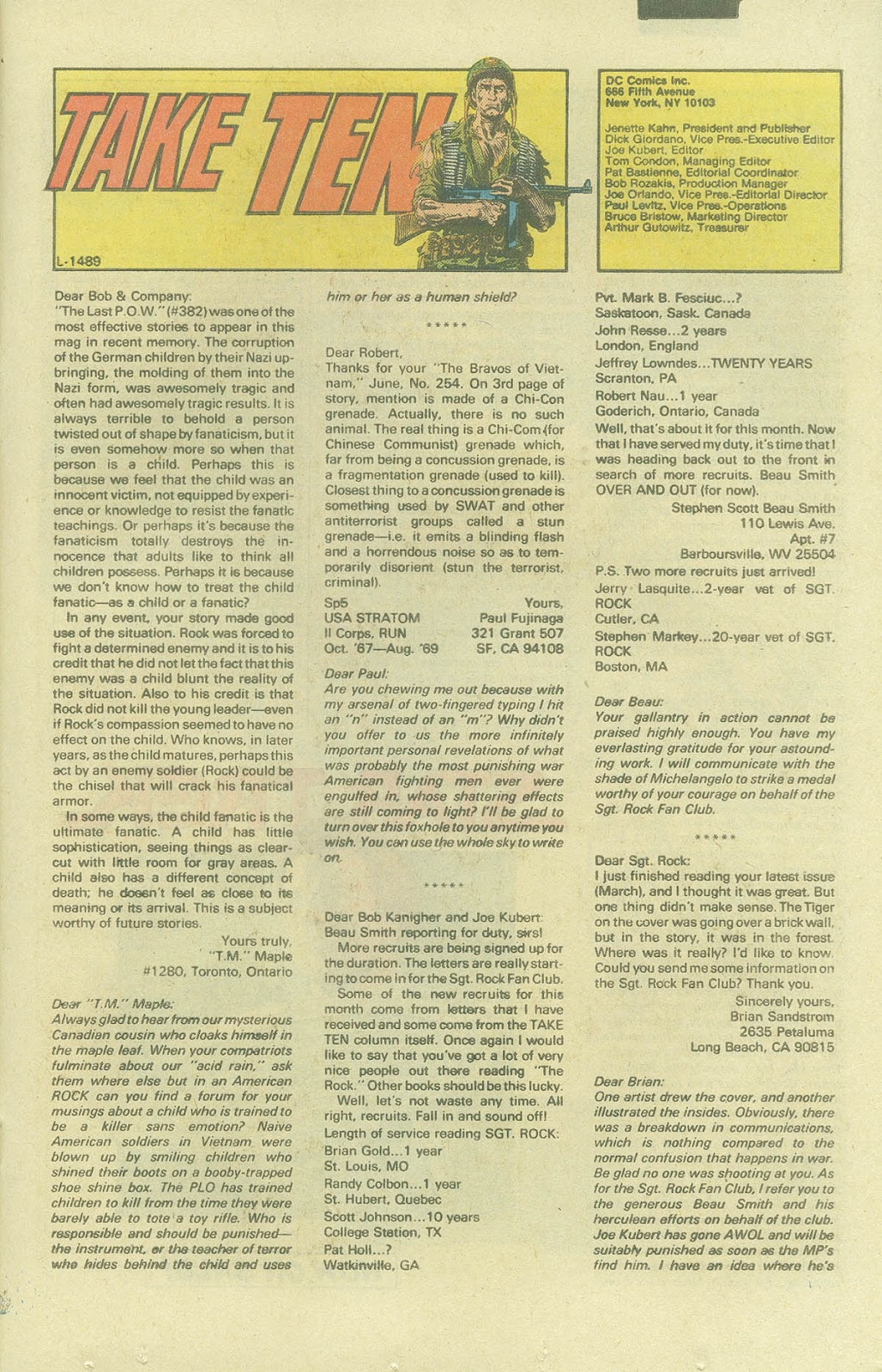 Sgt. Rock issue 387 - Page 20