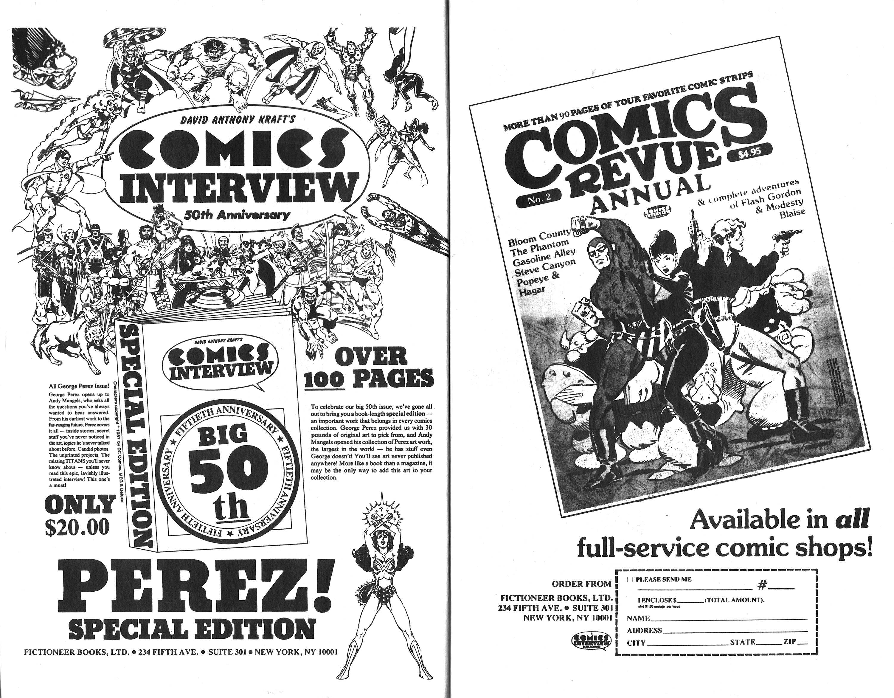 Read online Amazing Heroes comic -  Issue #163 - 16