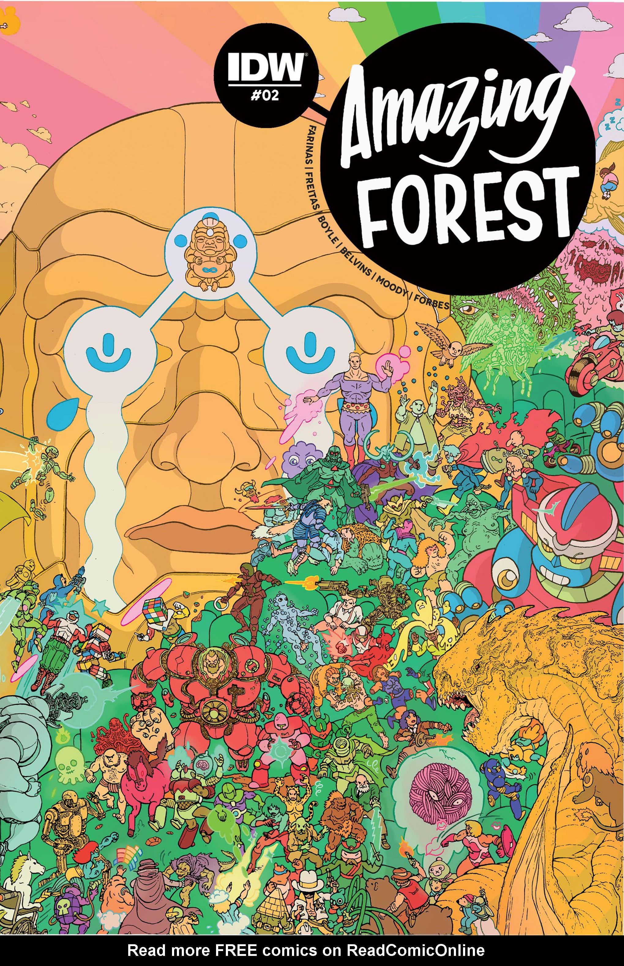 Amazing Forest (2016) 2 Page 1
