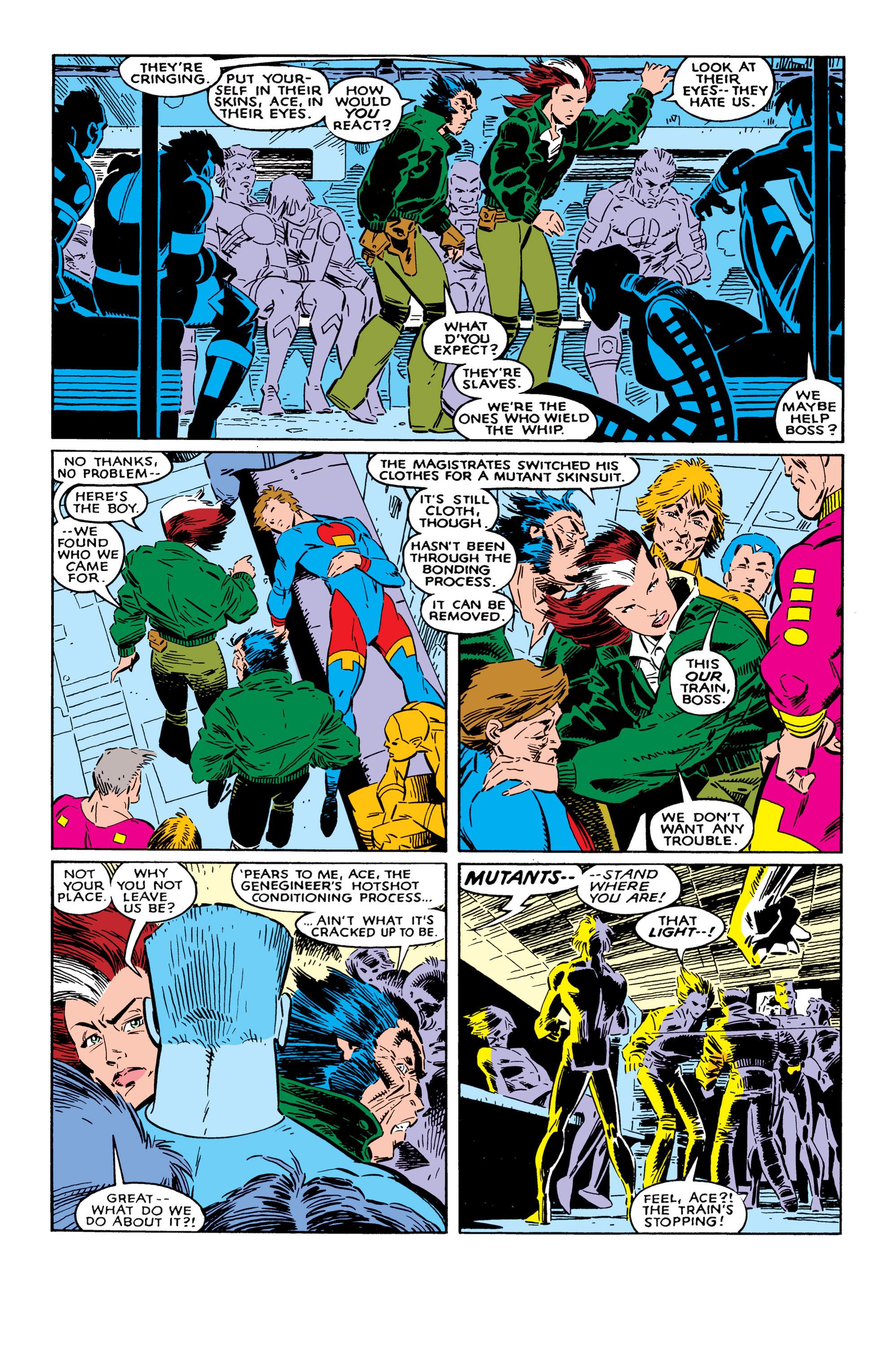 Read online Uncanny X-Men (1963) comic -  Issue #237 - 21