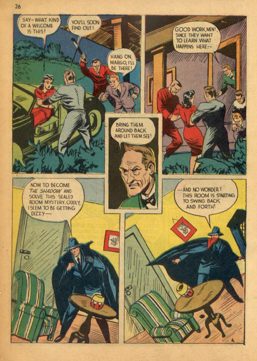 Read online Shadow Comics comic -  Issue #32 - 27