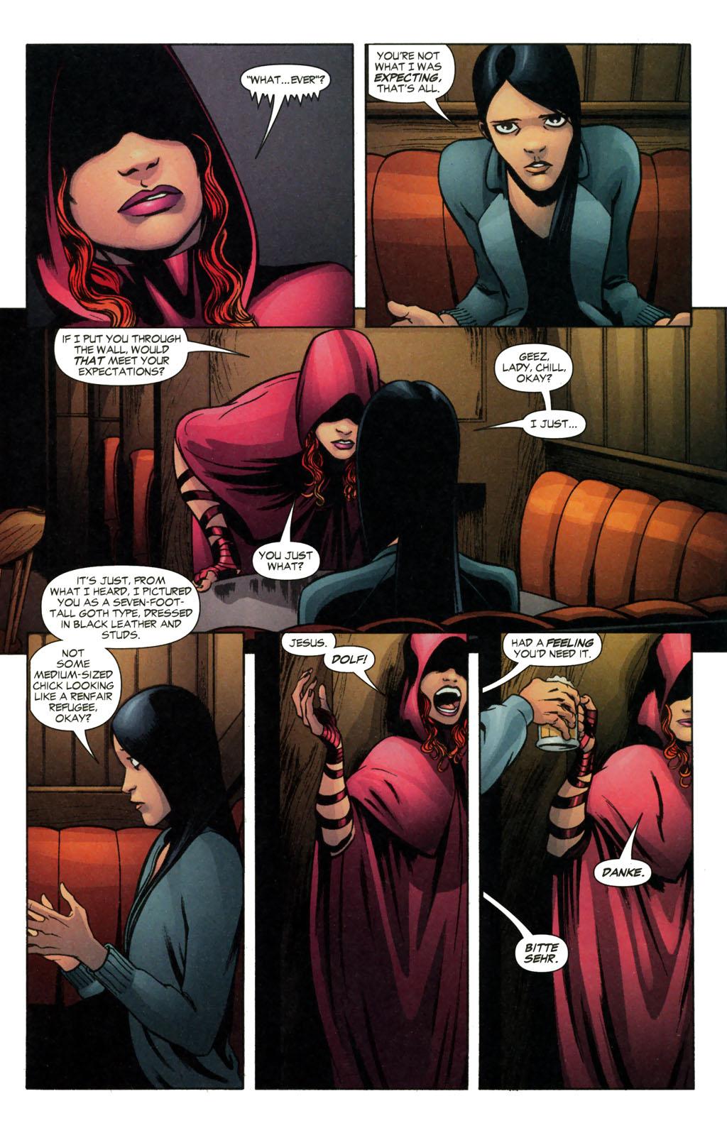 Read online Fallen Angel (2003) comic -  Issue #13 - 8