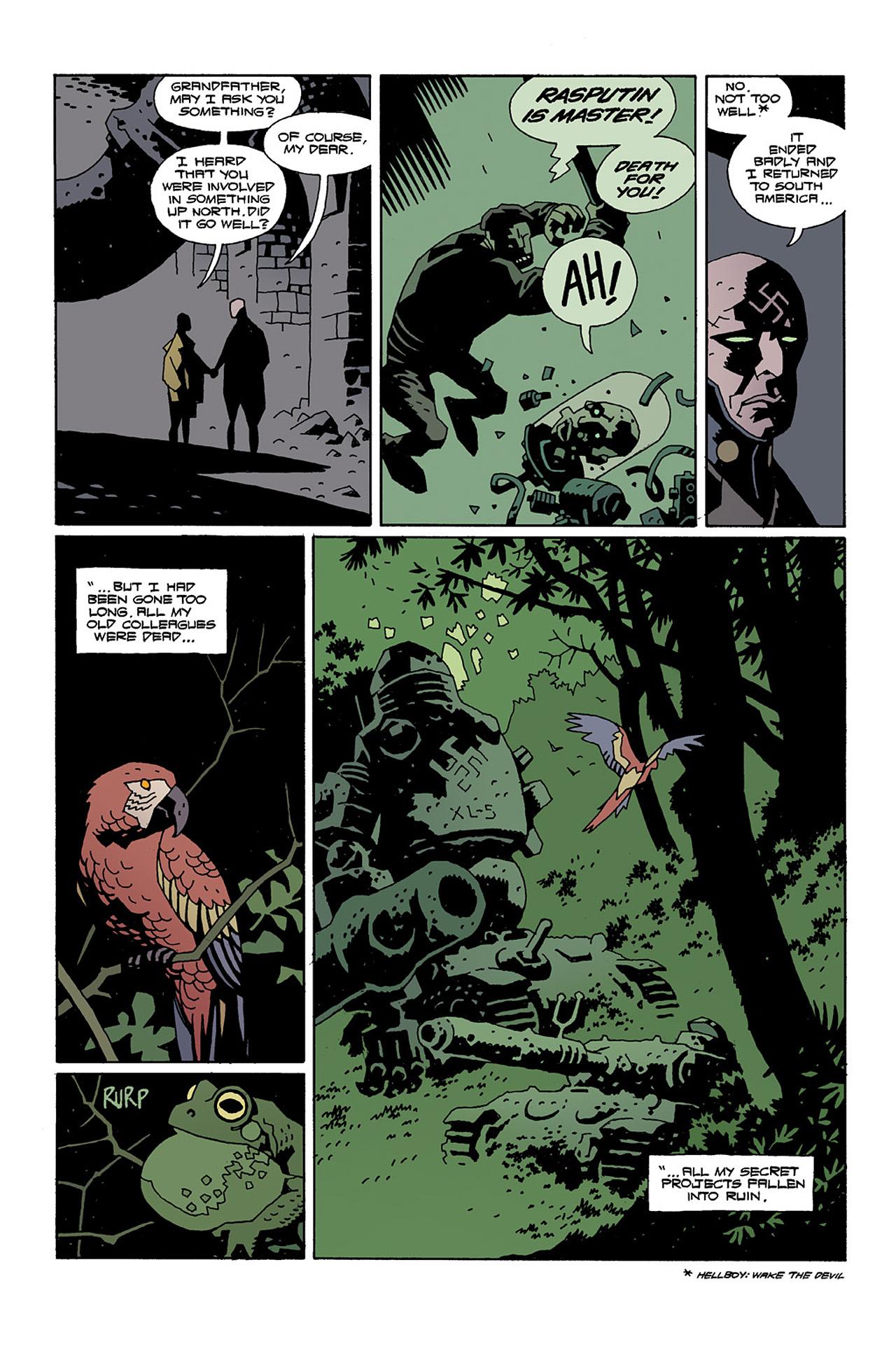 Read online Hellboy: Conqueror Worm comic -  Issue #2 - 6