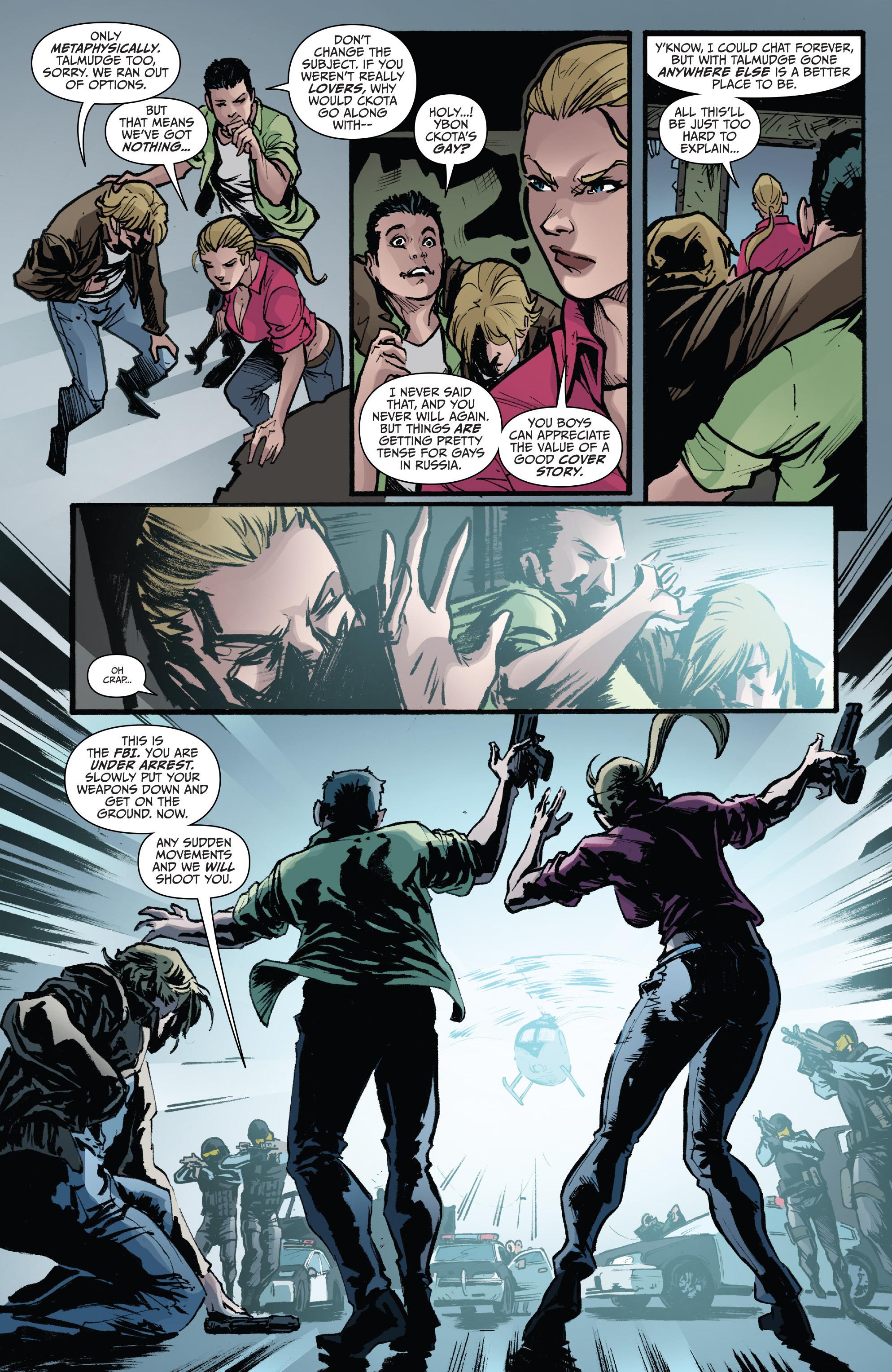 Read online 3 Guns comic -  Issue #6 - 22