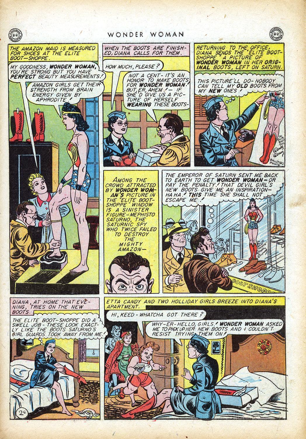 Read online Wonder Woman (1942) comic -  Issue #10 - 40