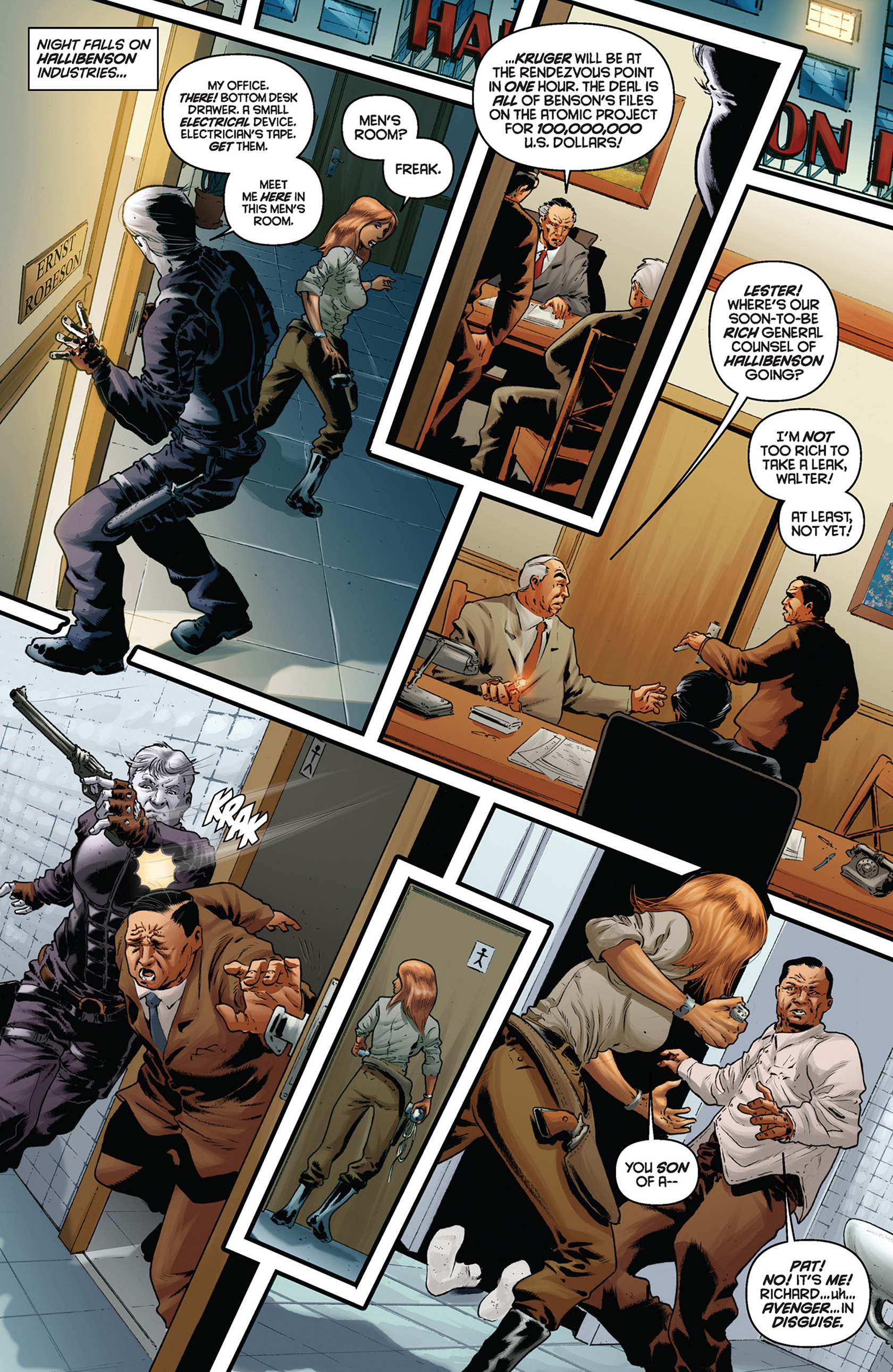 Read online Justice, Inc. comic -  Issue #5 - 12