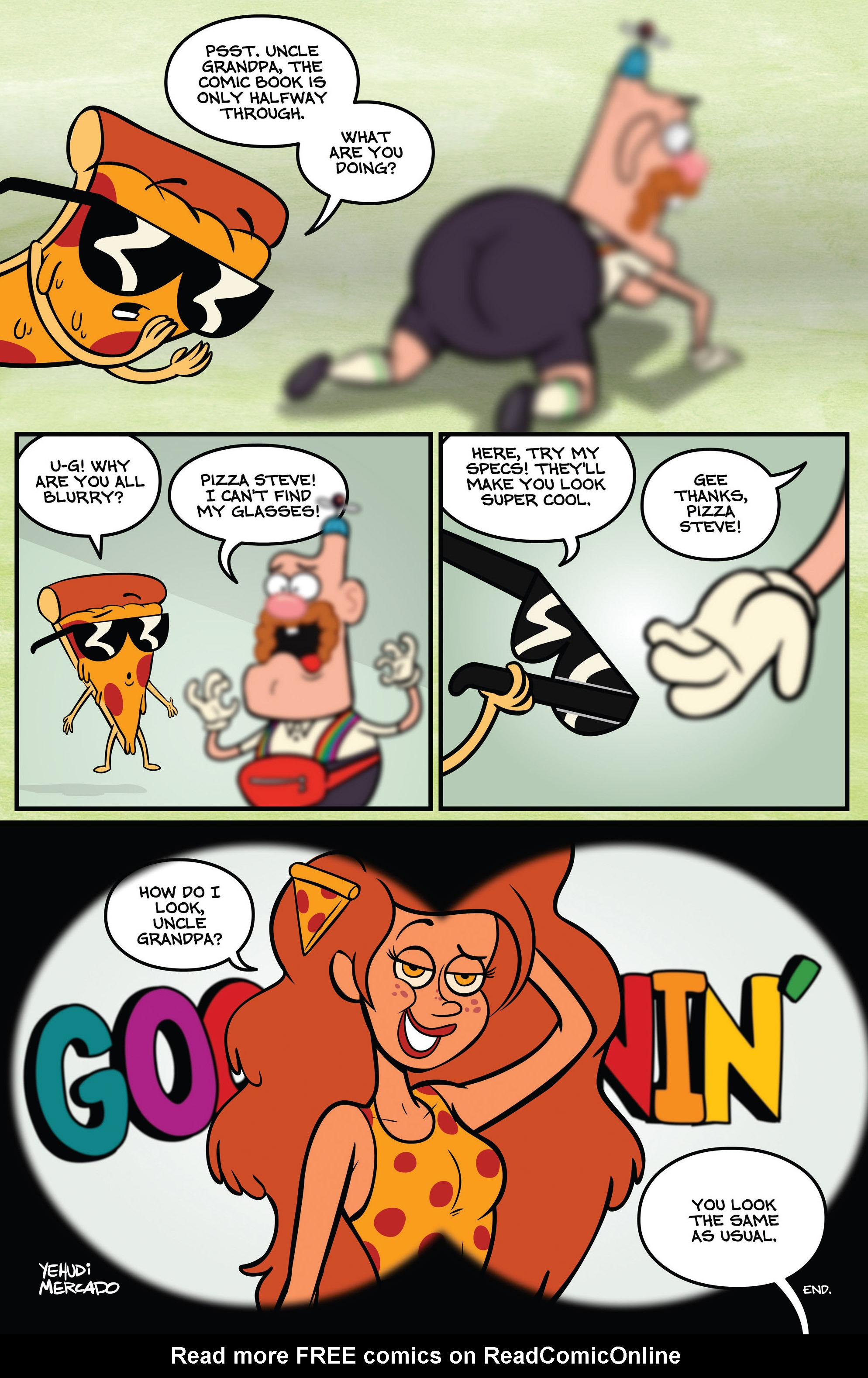 Read online Uncle Grandpa comic -  Issue #1 - 14