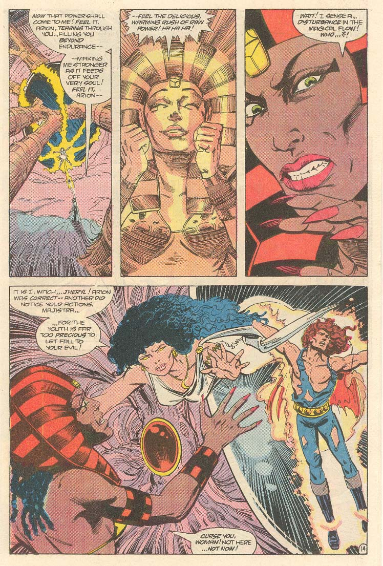 Read online Arion, Lord of Atlantis comic -  Issue #33 - 15