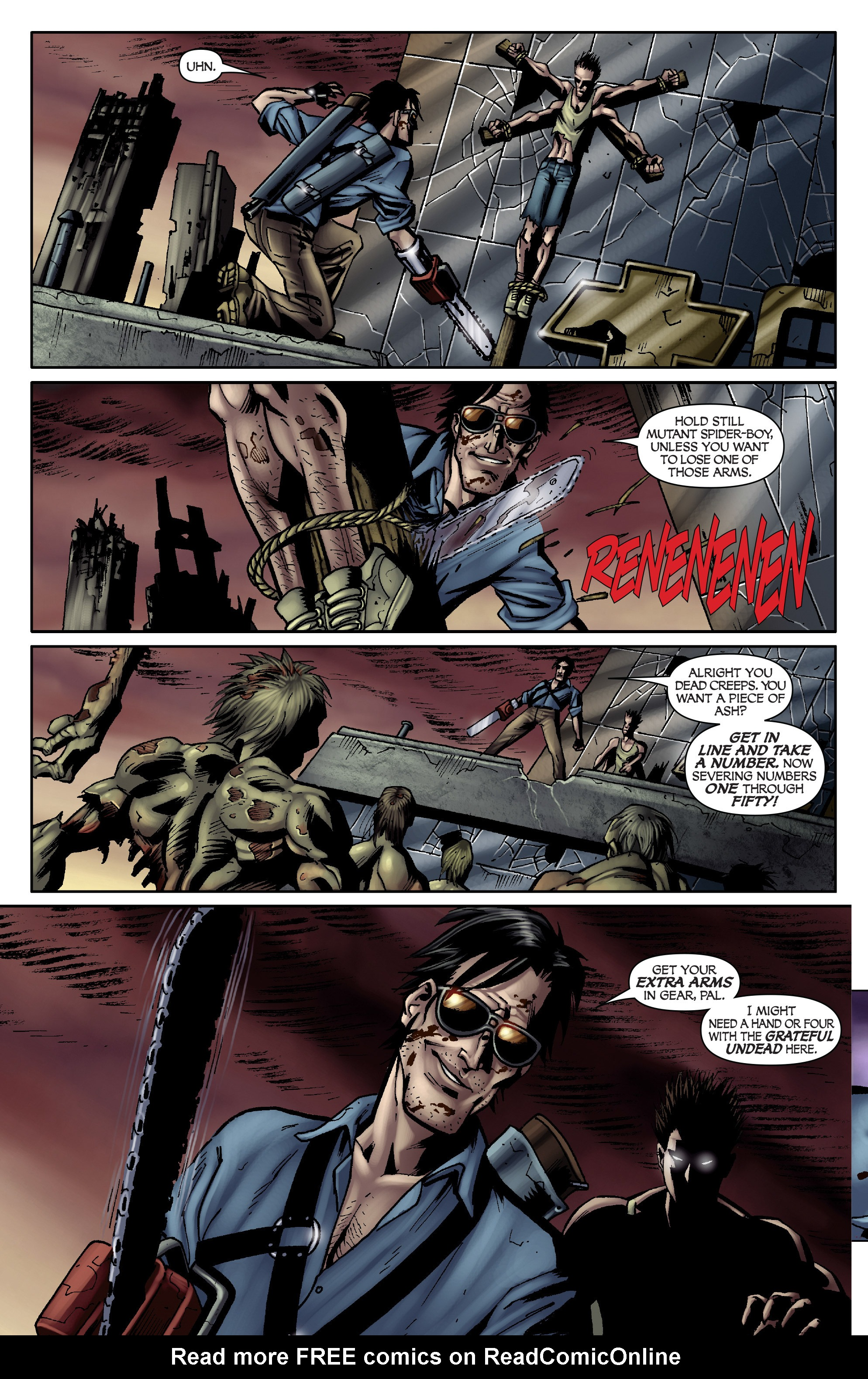 Read online Army of Darkness: From the Ashes comic -  Issue #Army of Darkness: From the Ashes TPB - 51