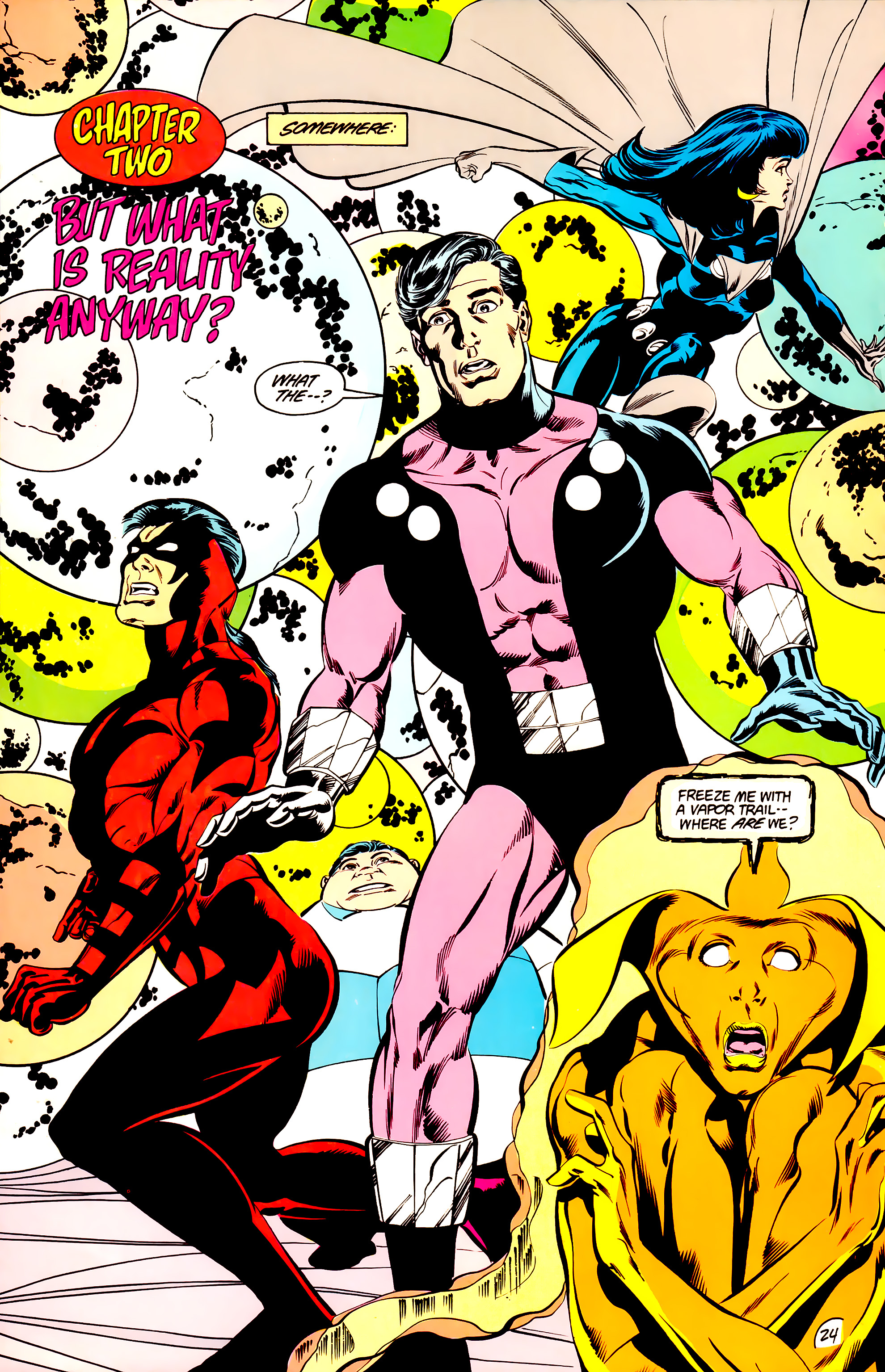 Legion of Super-Heroes (1984) _Annual_3 Page 24