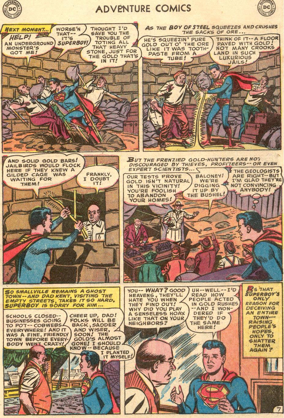 Read online Adventure Comics (1938) comic -  Issue #186 - 9
