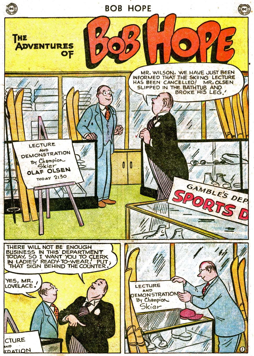 The Adventures of Bob Hope issue 1 - Page 17