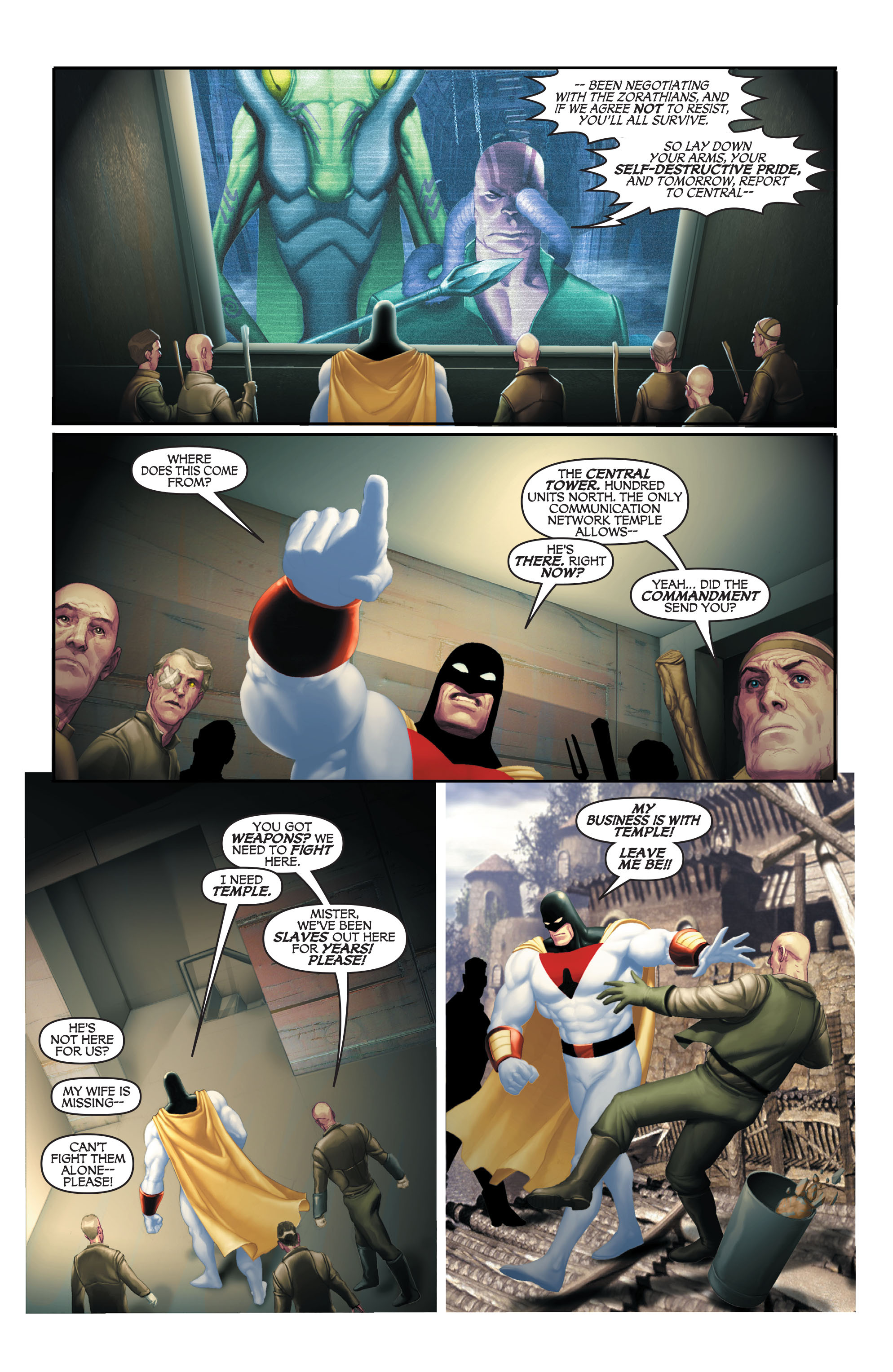 Read online Space Ghost (2016) comic -  Issue # Full - 96