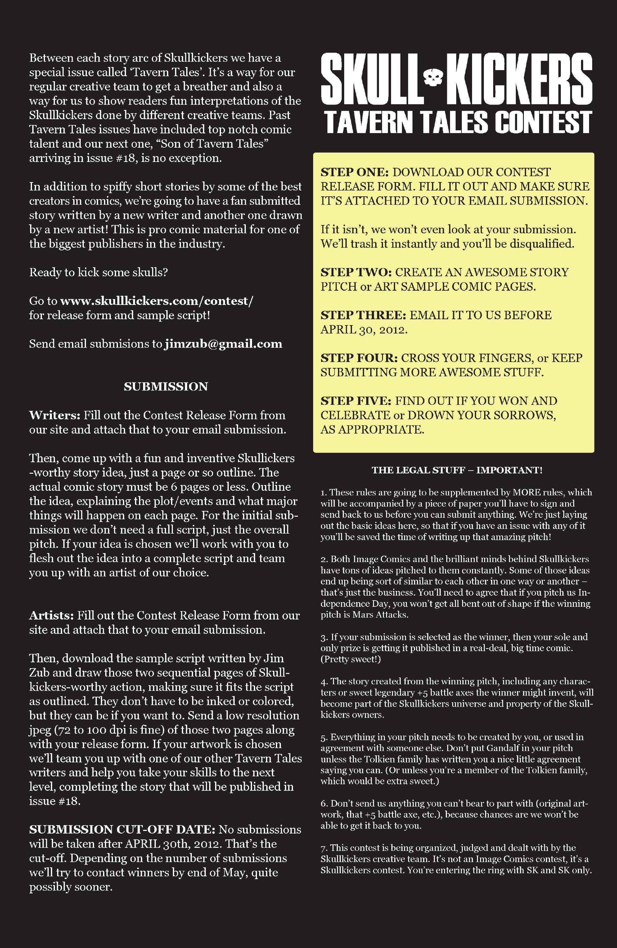 Read online Skullkickers comic -  Issue #13 - 28