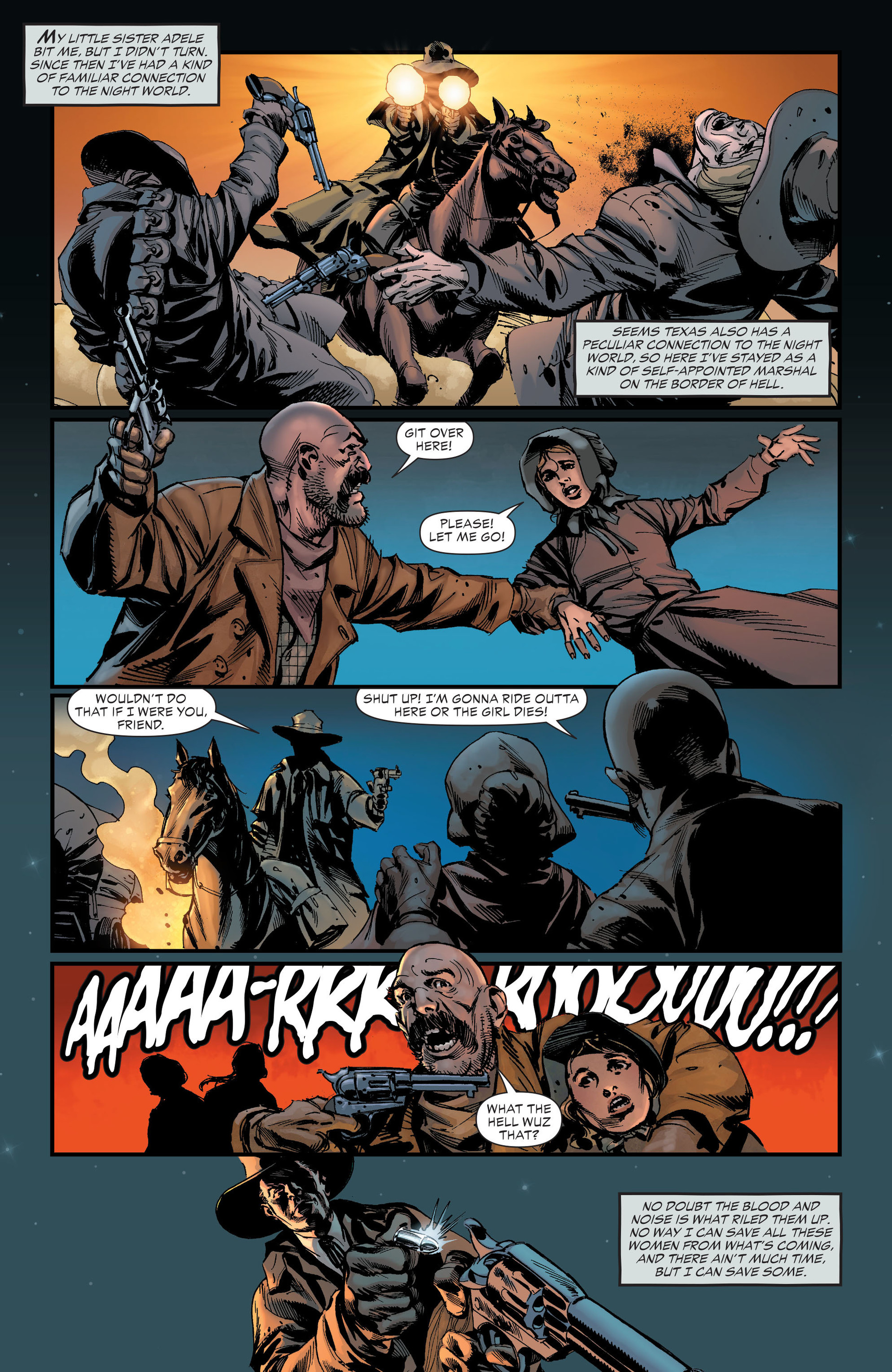 Read online All-Star Western (2011) comic -  Issue #19 - 25