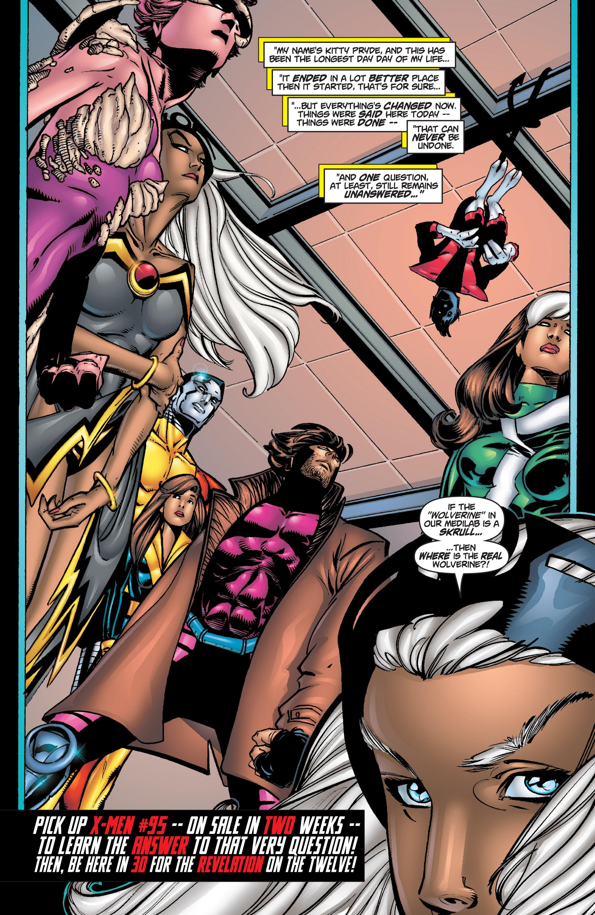Read online Uncanny X-Men (1963) comic -  Issue #375 - 34