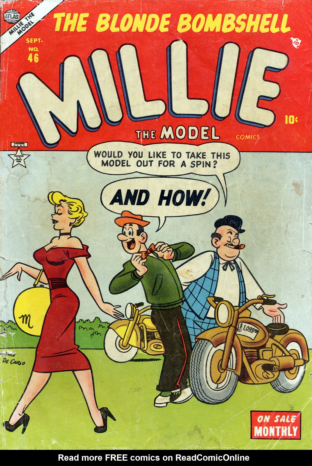 Millie the Model issue 46 - Page 1