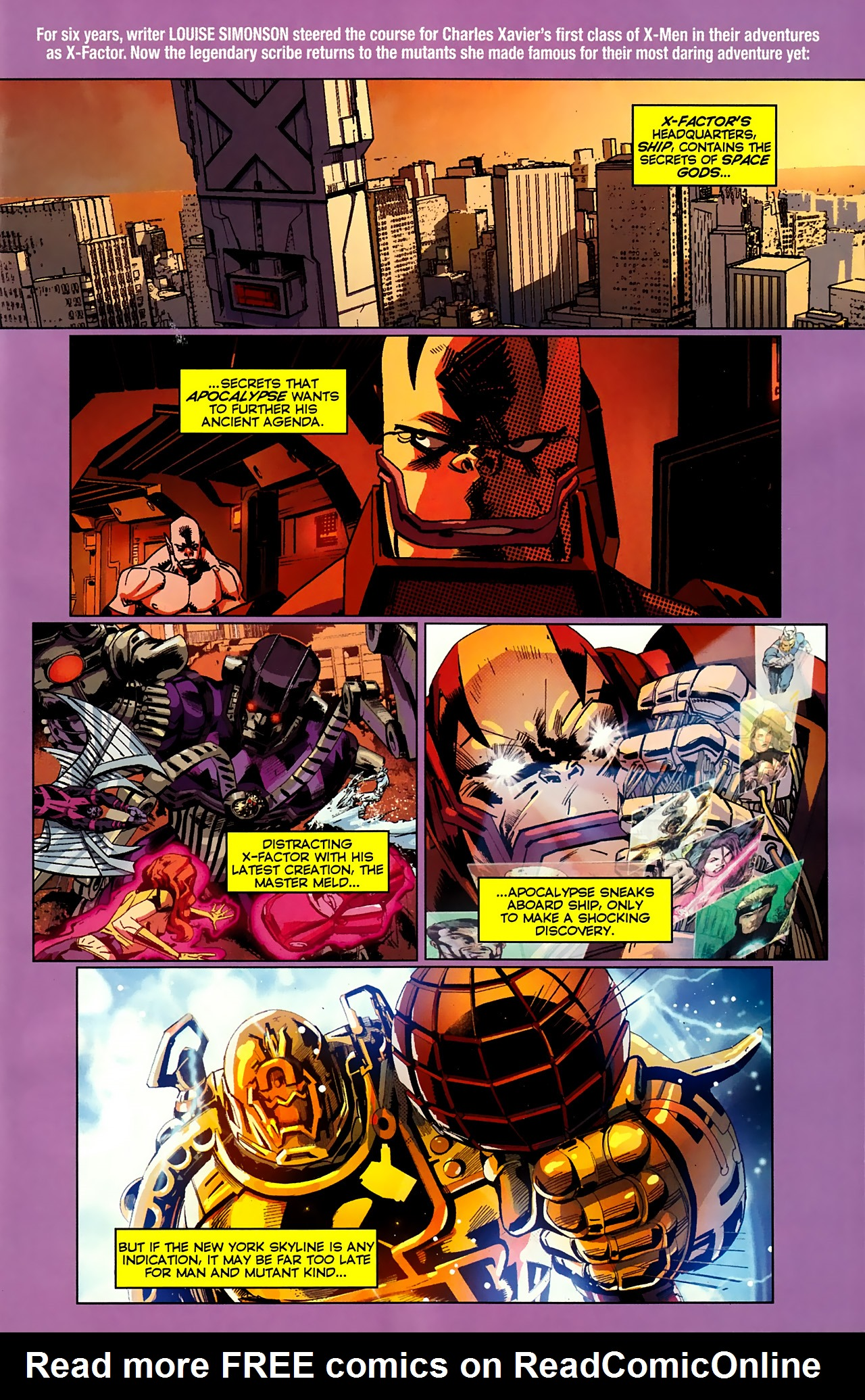 Read online X-Factor Forever comic -  Issue #3 - 2