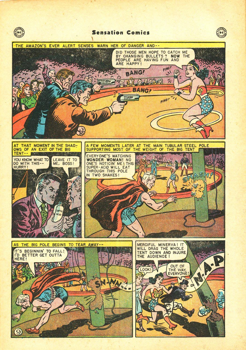 Read online Sensation (Mystery) Comics comic -  Issue #86 - 11