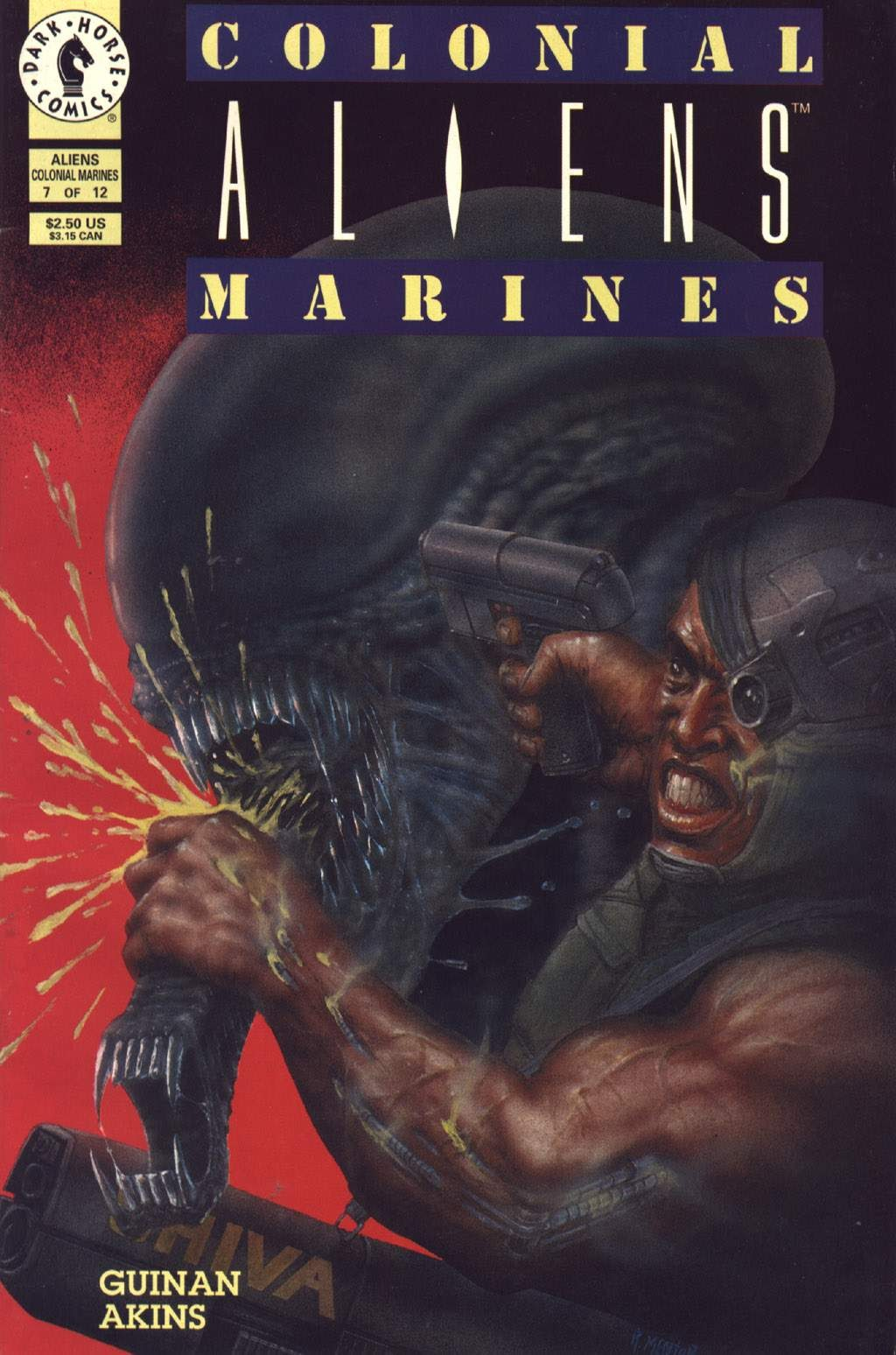 Read online Aliens: Colonial Marines comic -  Issue #7 - 1