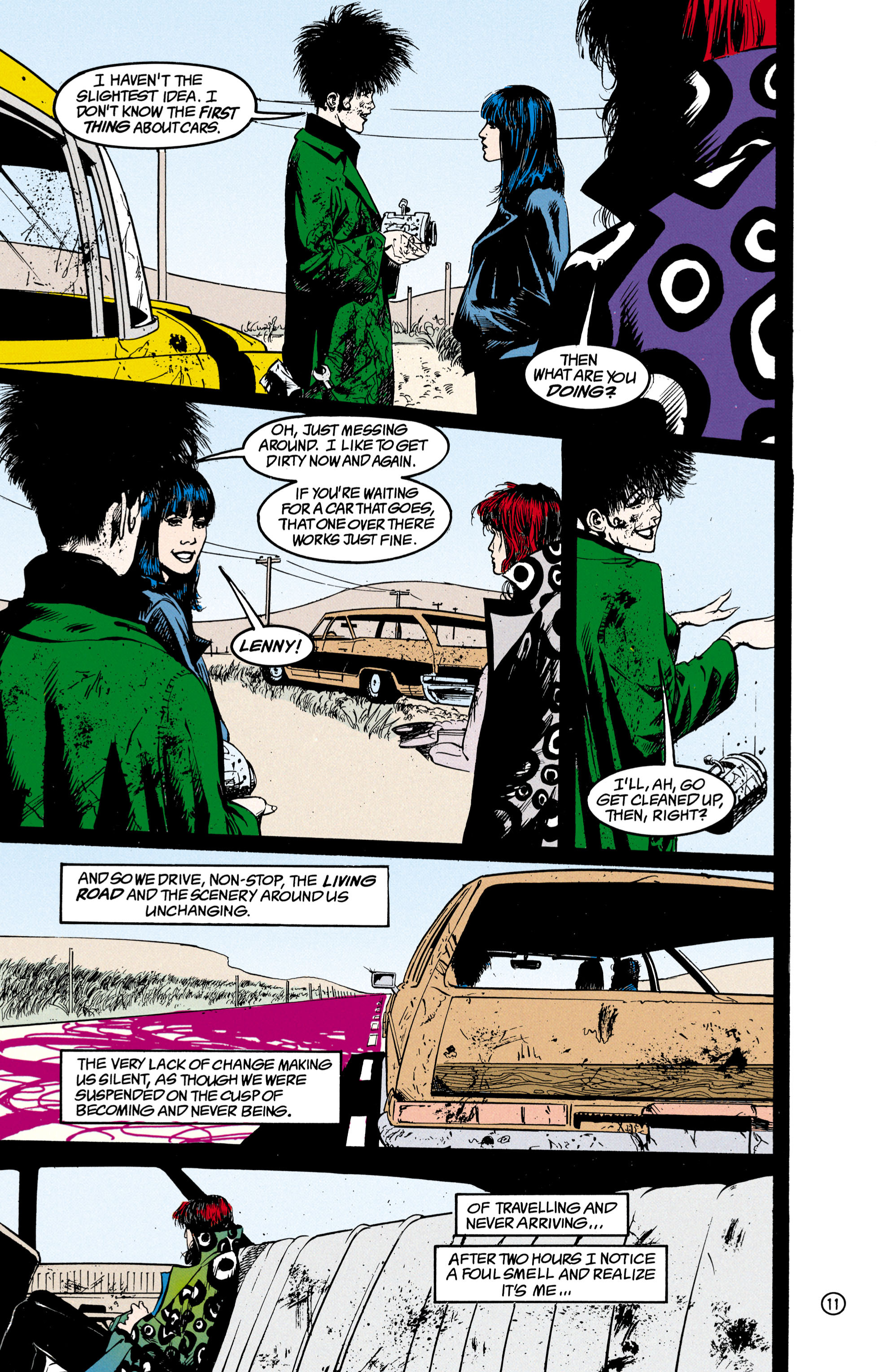 Read online Shade, the Changing Man comic -  Issue #23 - 12