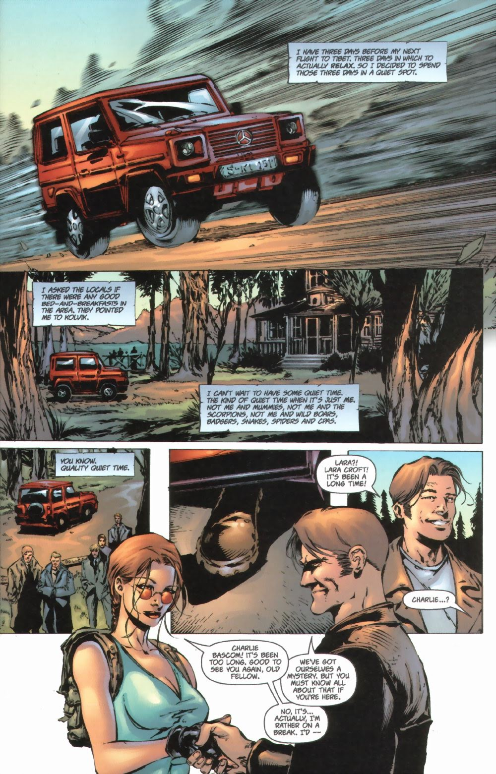 Read online Tomb Raider: The Series comic -  Issue #0 - 5