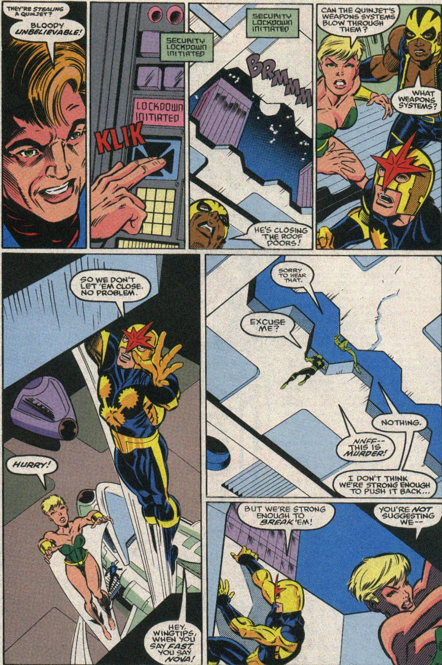 The New Warriors Issue #22 #26 - English 18