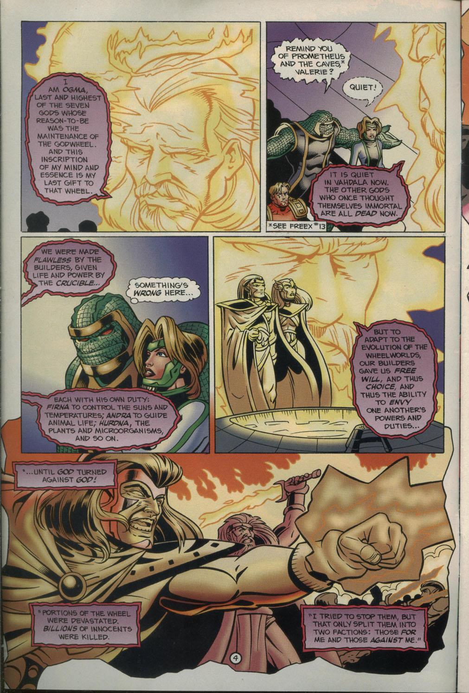 Read online Godwheel comic -  Issue #2 - 7