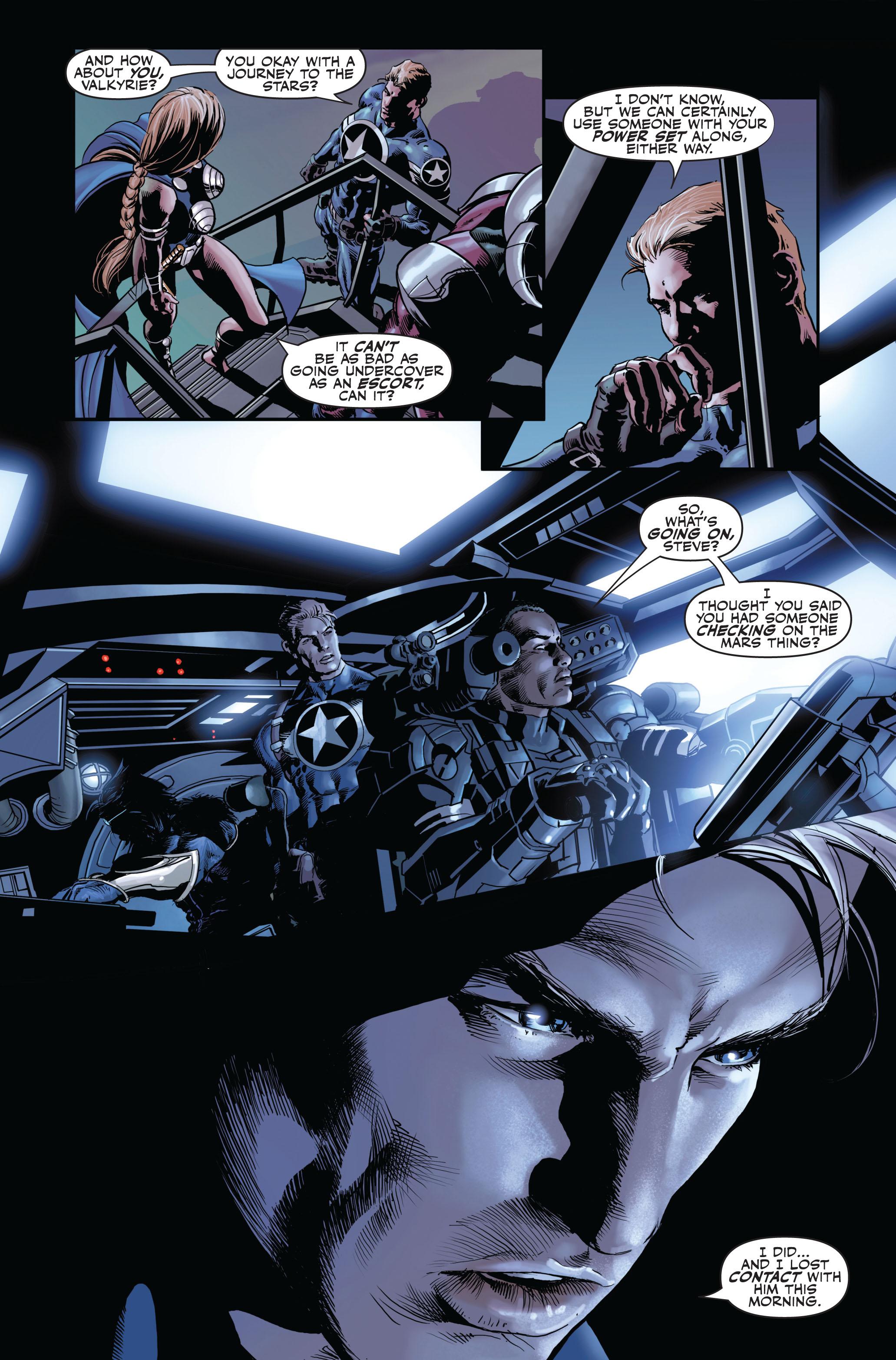 Read online Secret Avengers (2010) comic -  Issue #1 - 22