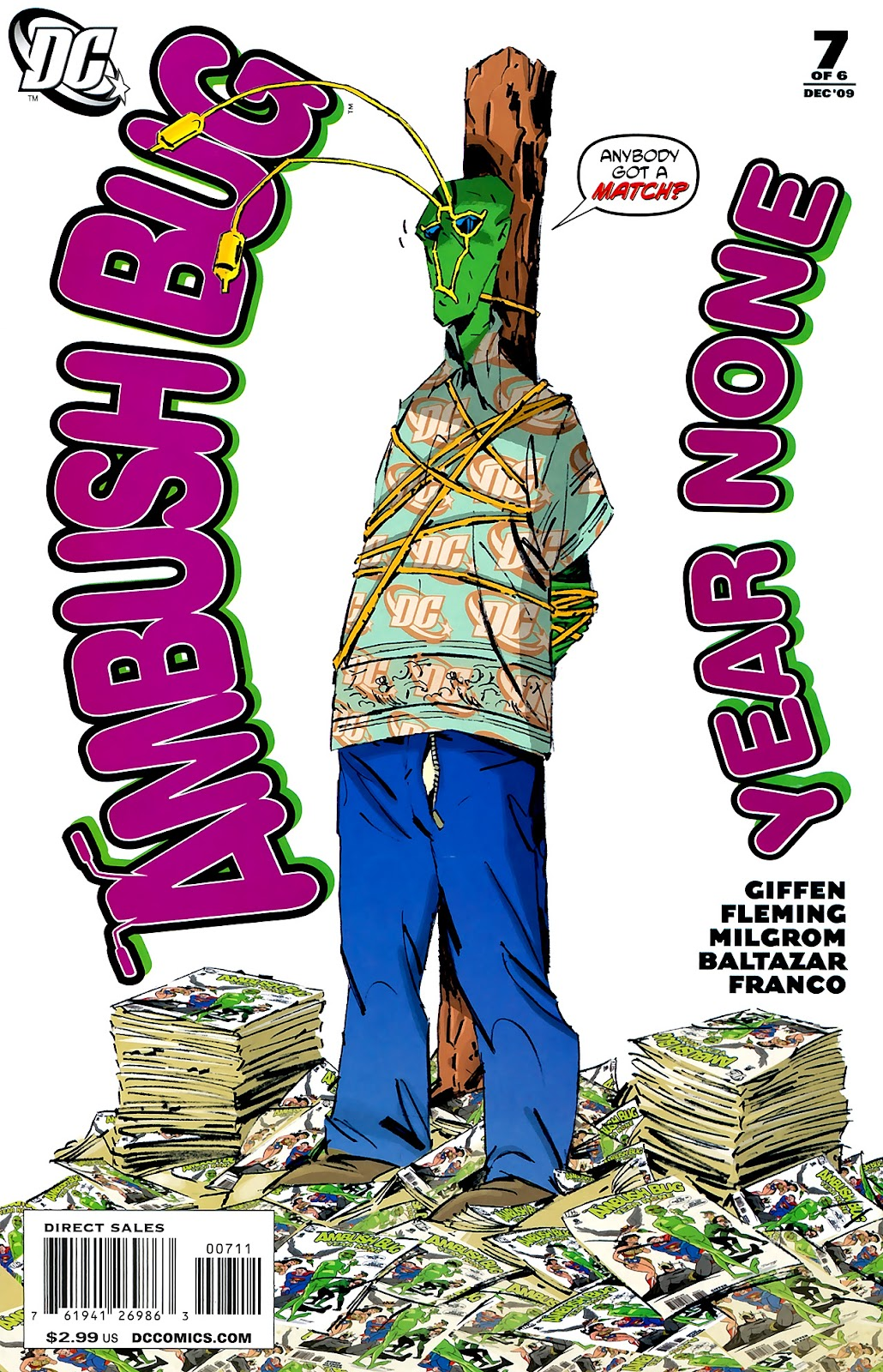 Ambush Bug: Year None issue 7 - Page 1
