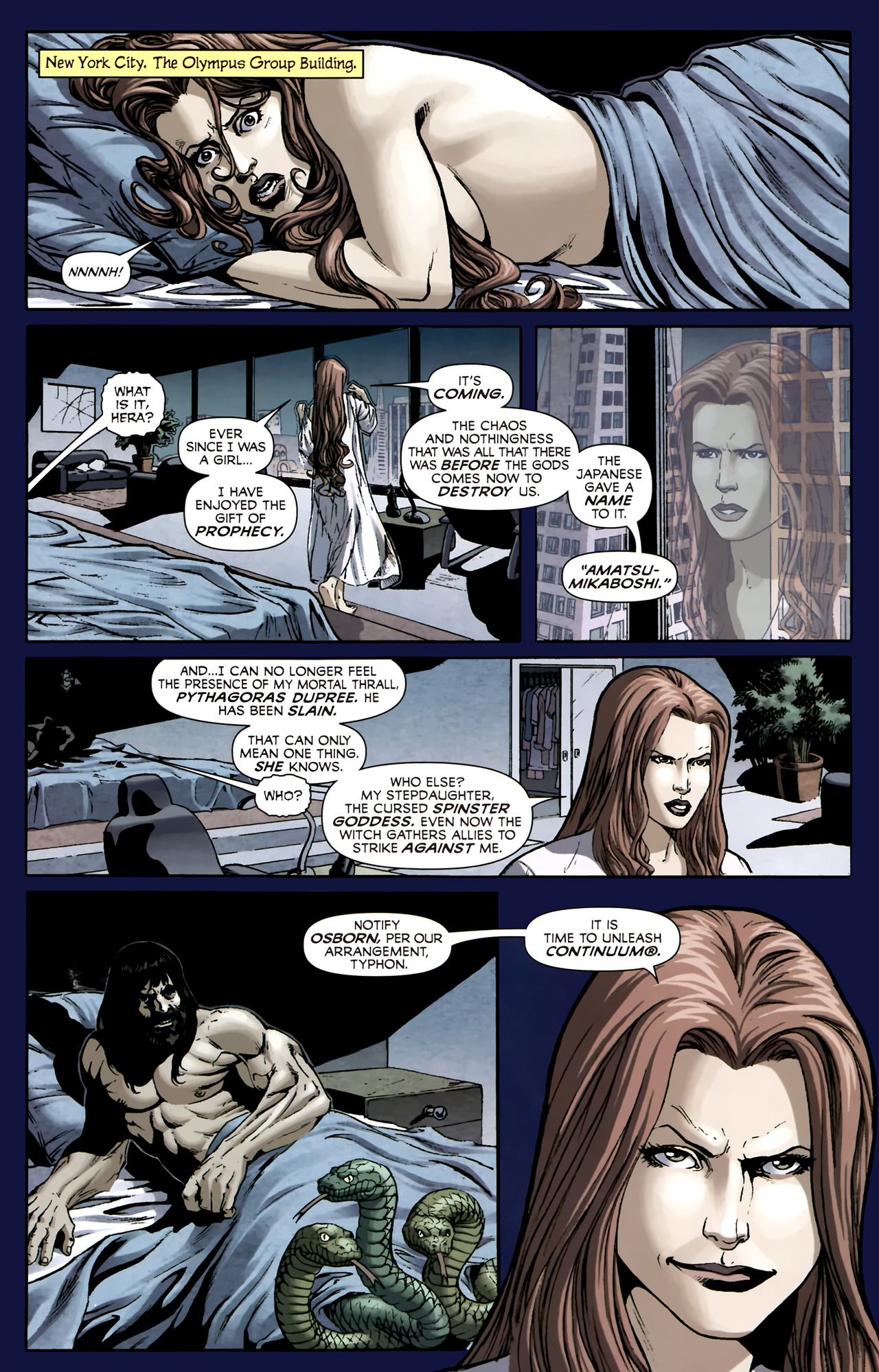 Read online Assault on New Olympus Prologue comic -  Issue #Assault on New Olympus Prologue Full - 8
