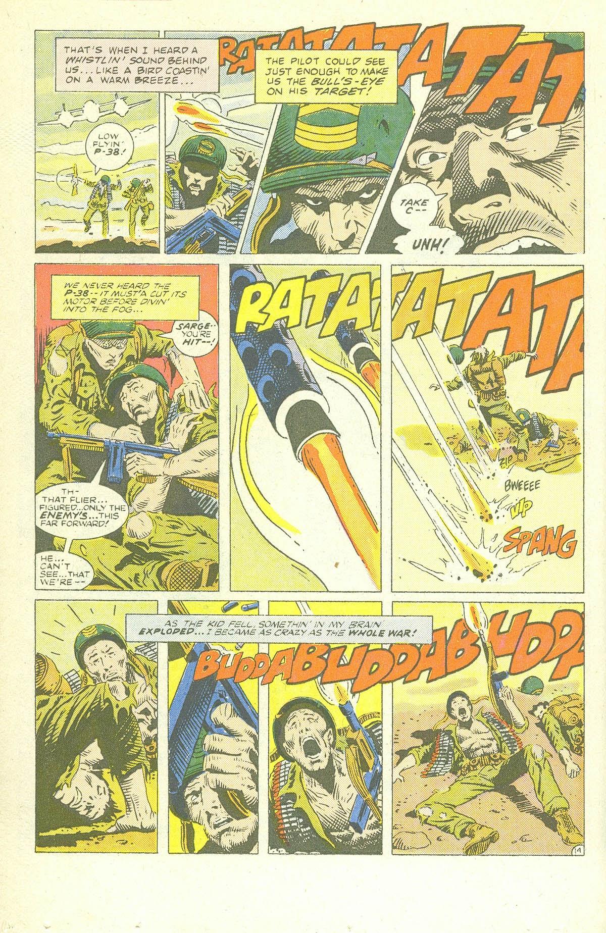 Read online Sgt. Rock comic -  Issue #409 - 19