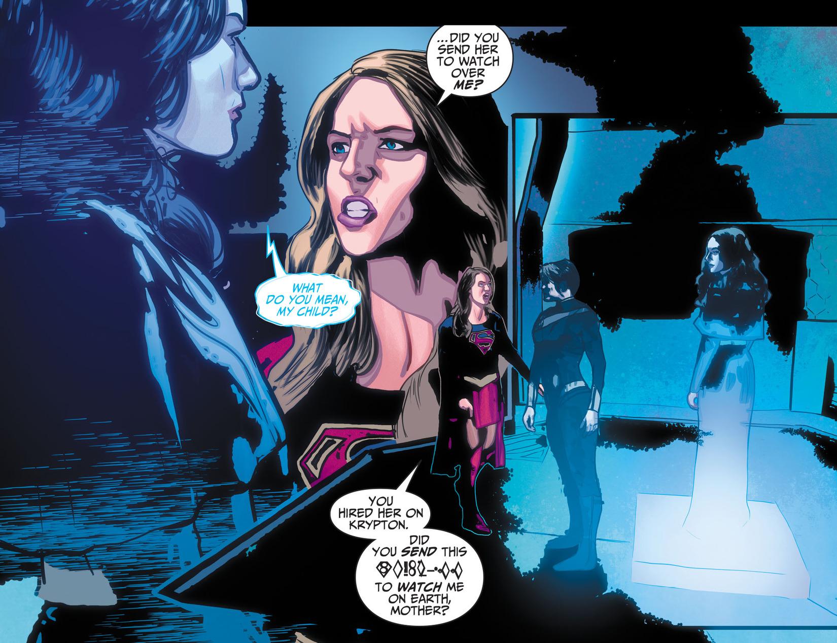 Read online Adventures of Supergirl comic -  Issue #10 - 18