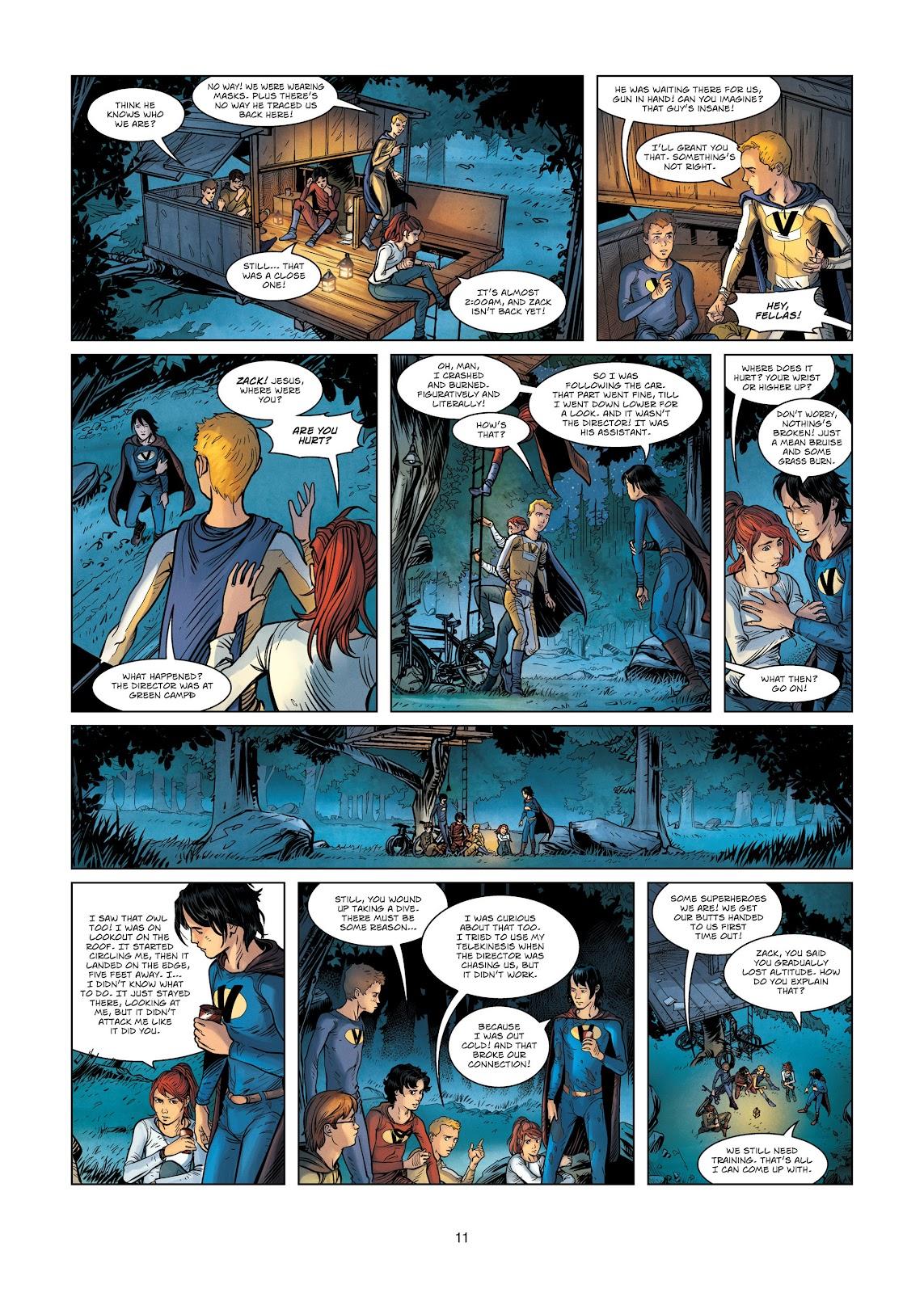 Read online Vigilantes comic -  Issue #3 - 11