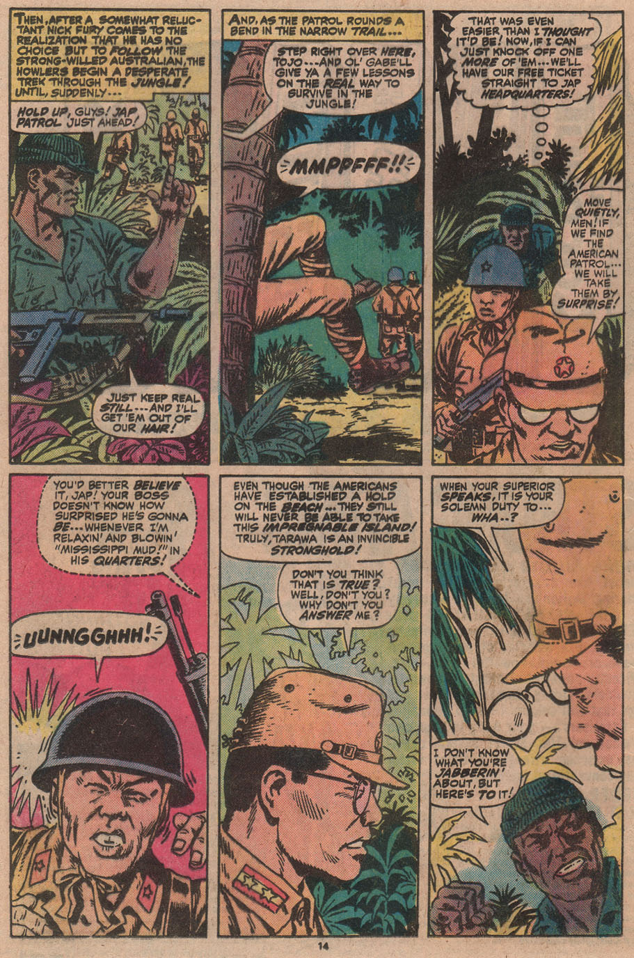 Read online Sgt. Fury comic -  Issue #145 - 16