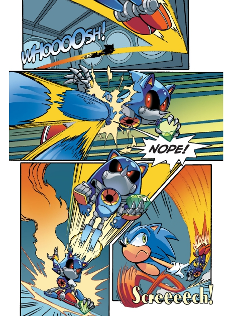 Read online Sonic Comics Spectacular: Speed of Sound comic -  Issue # Full - 70