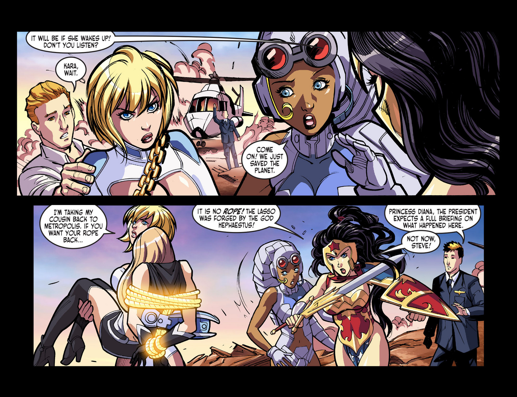 Read online Ame-Comi Girls comic -  Issue #5 - 15