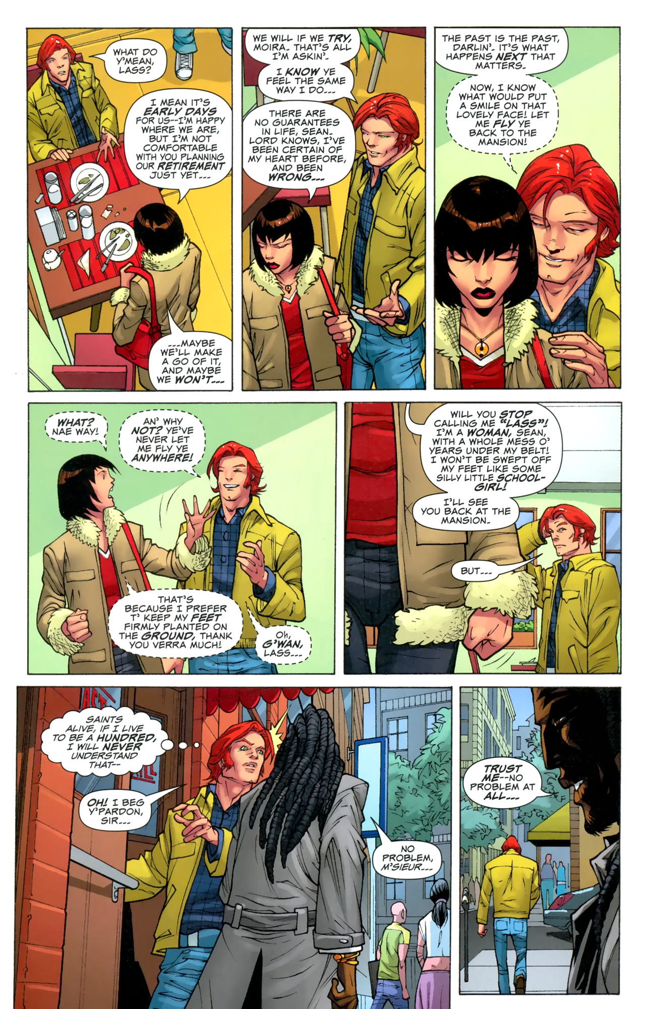 Read online Uncanny X-Men: First Class comic -  Issue #3 - 6