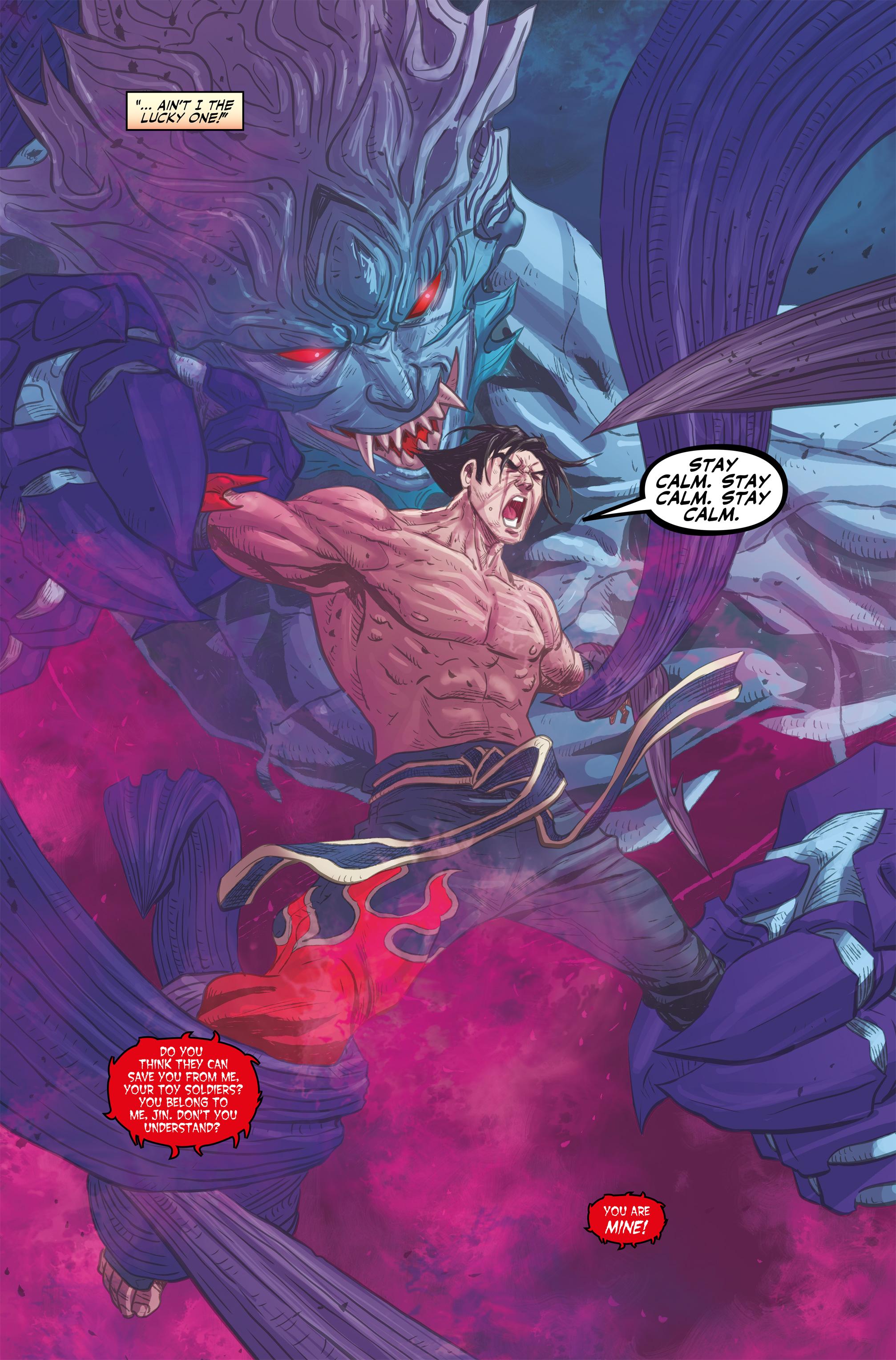 Read online Tekken comic -  Issue #2 - 23