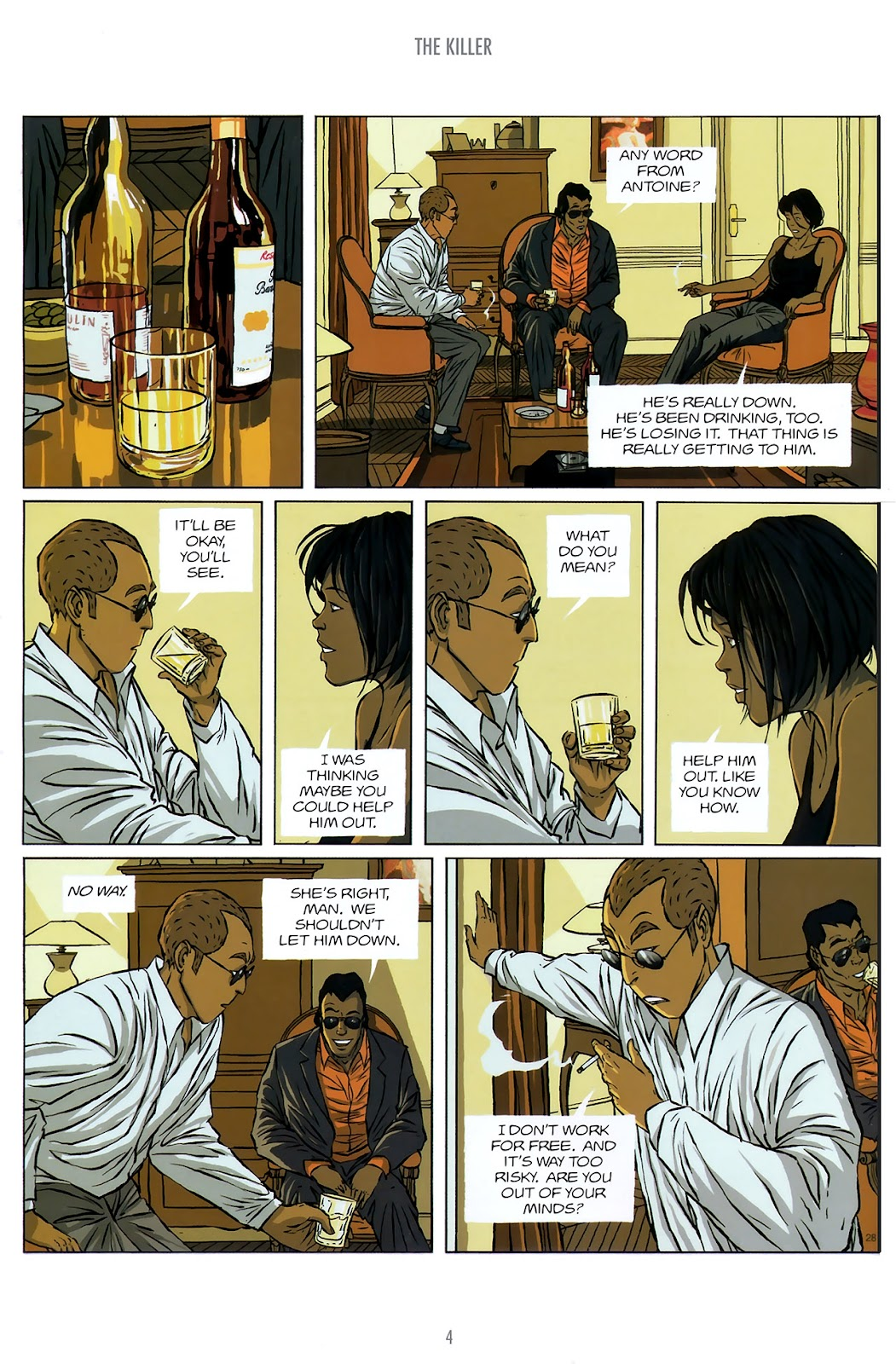 Read online The Killer comic -  Issue #10 - 4