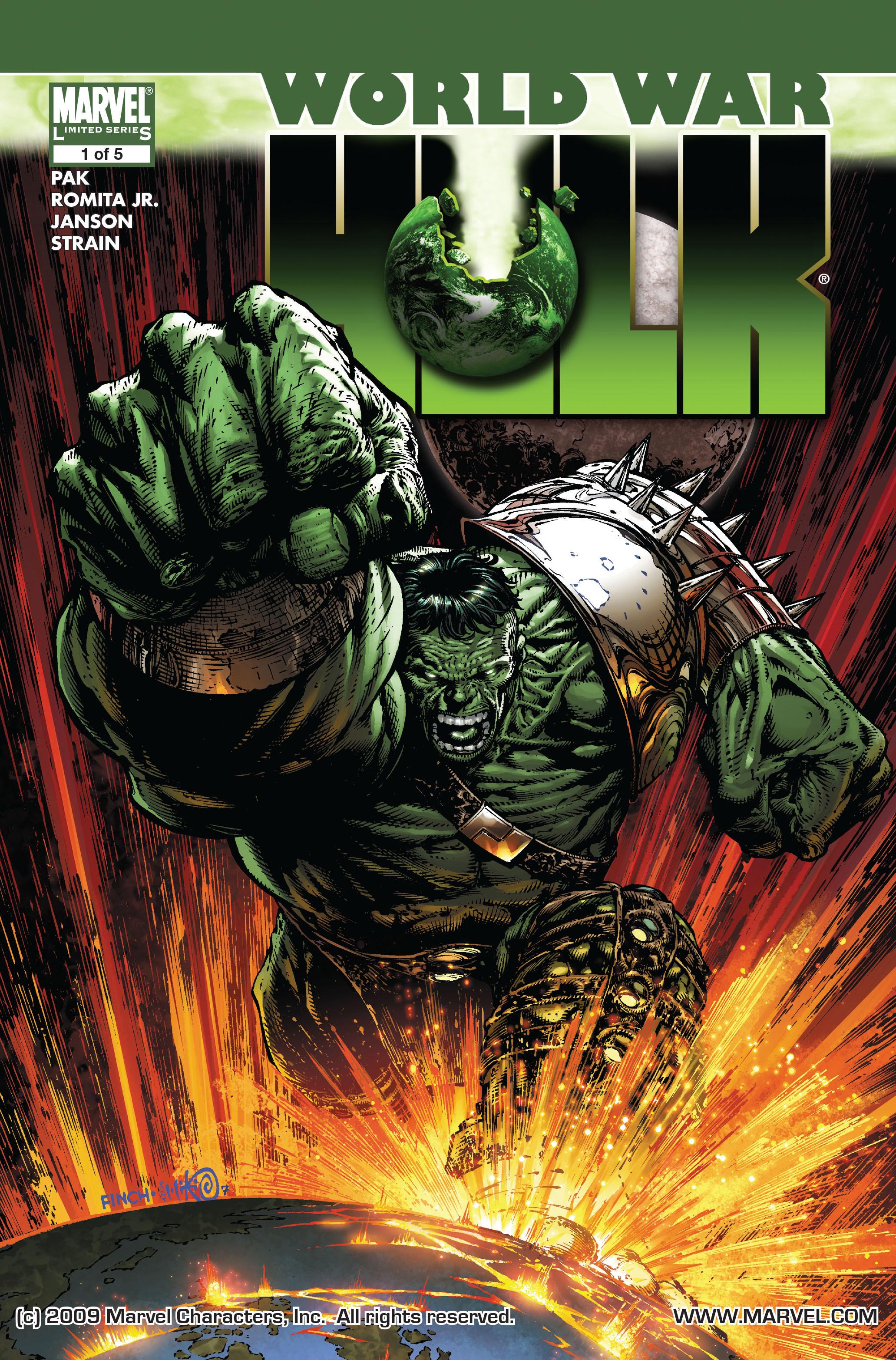 World War Hulk issue 1 - Page 1