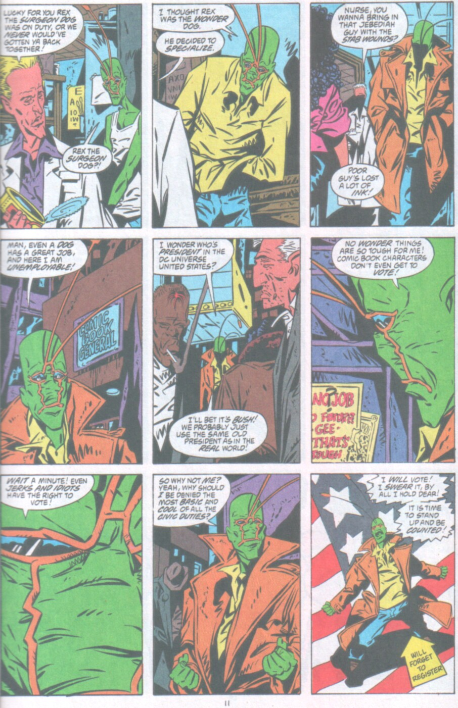 Read online Ambush Bug Nothing Special comic -  Issue # Full - 12
