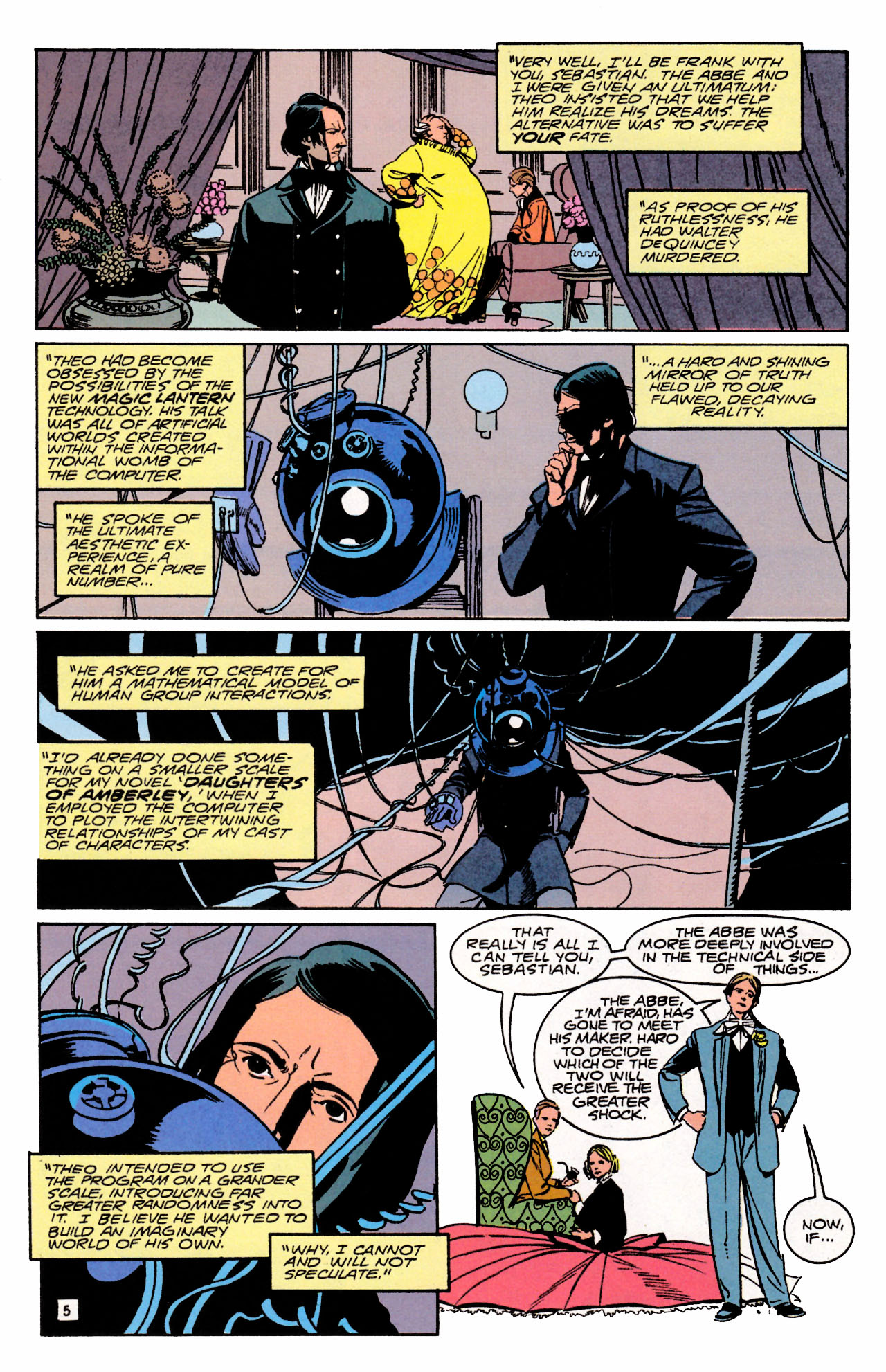 Read online Sebastian O comic -  Issue #3 - 7